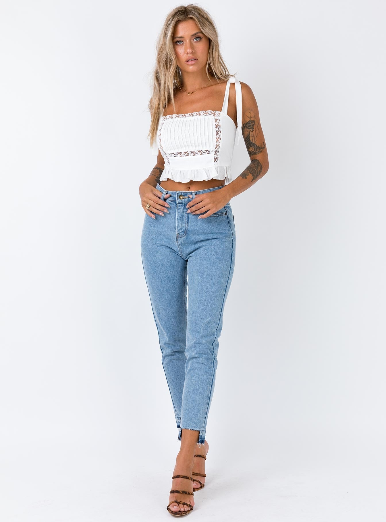 Mind Over Matter Mom Jean Denim