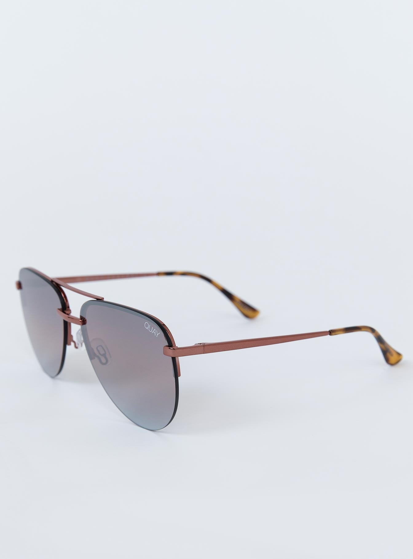 QUAY The Playa Sunglasses Bronze