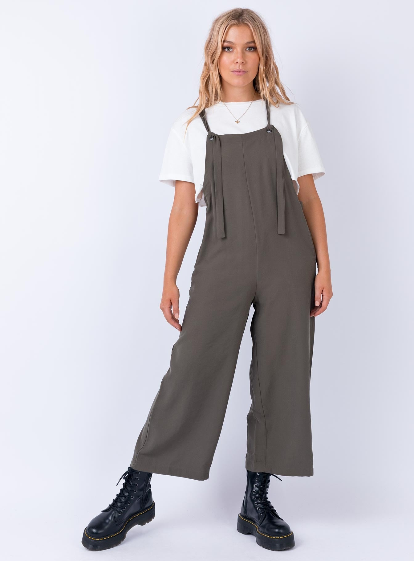 The Fowler Jumpsuit Khaki