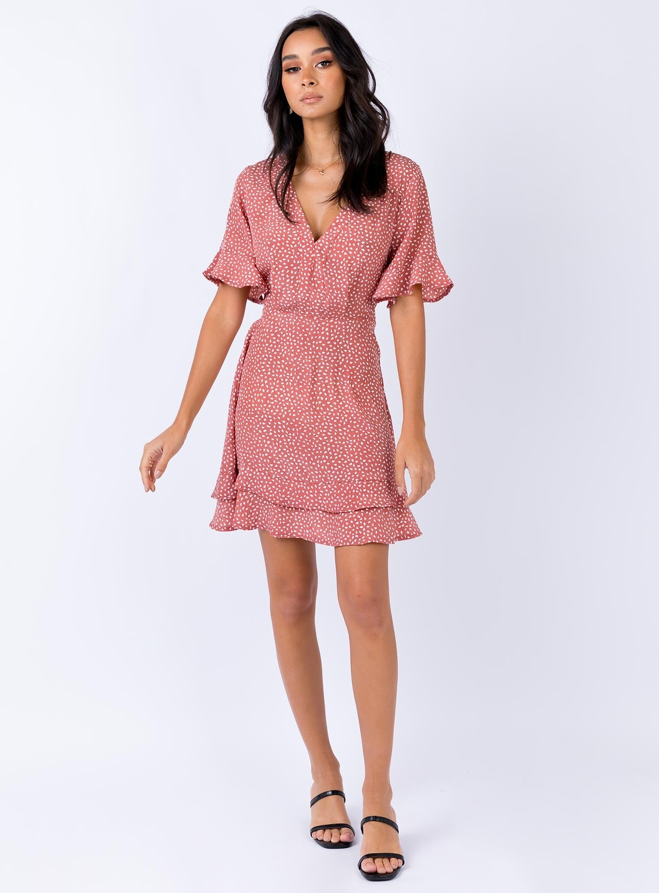 Jynna Mini Dress Blush