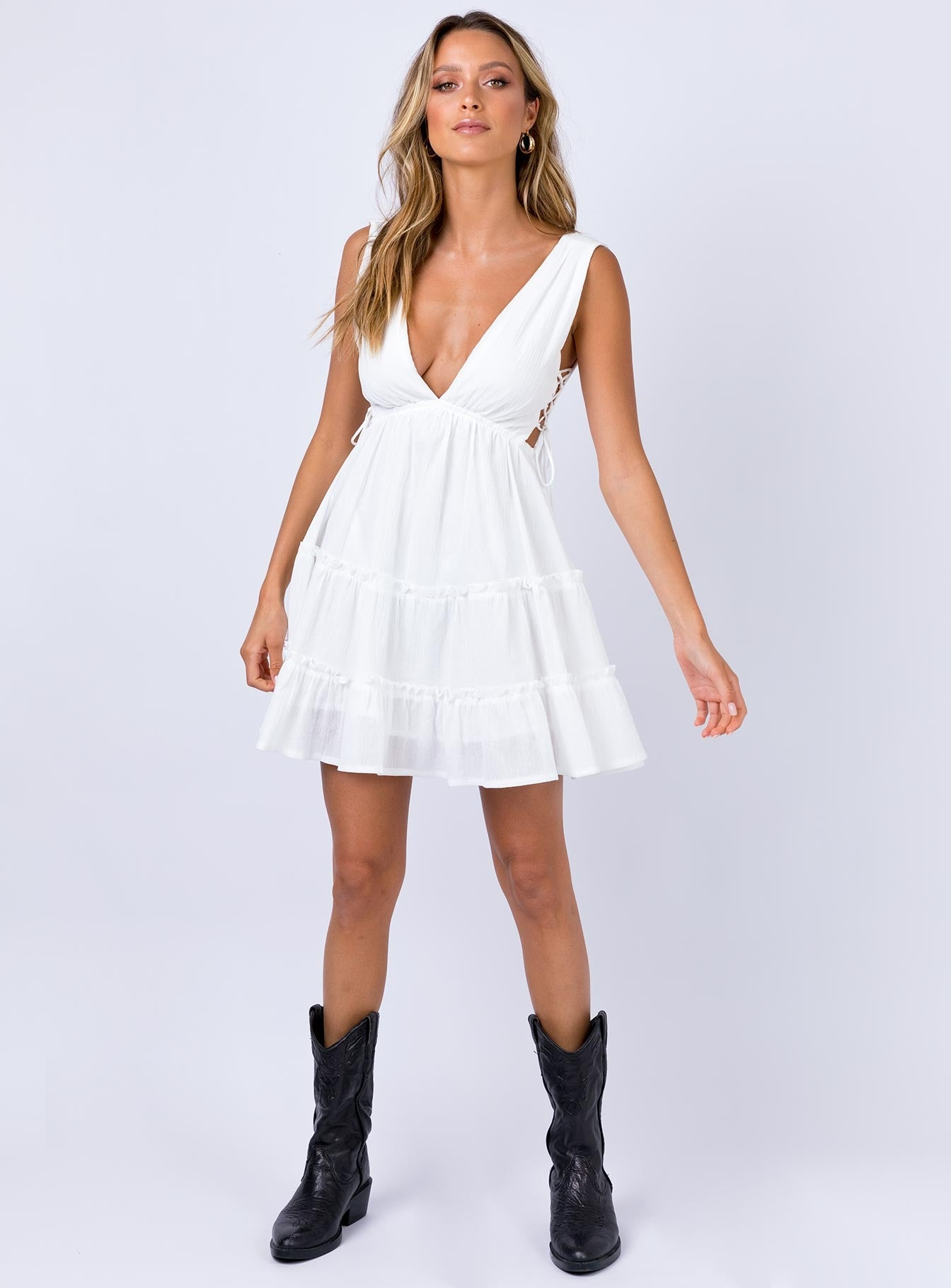 Krissa Mini Dress Ivory