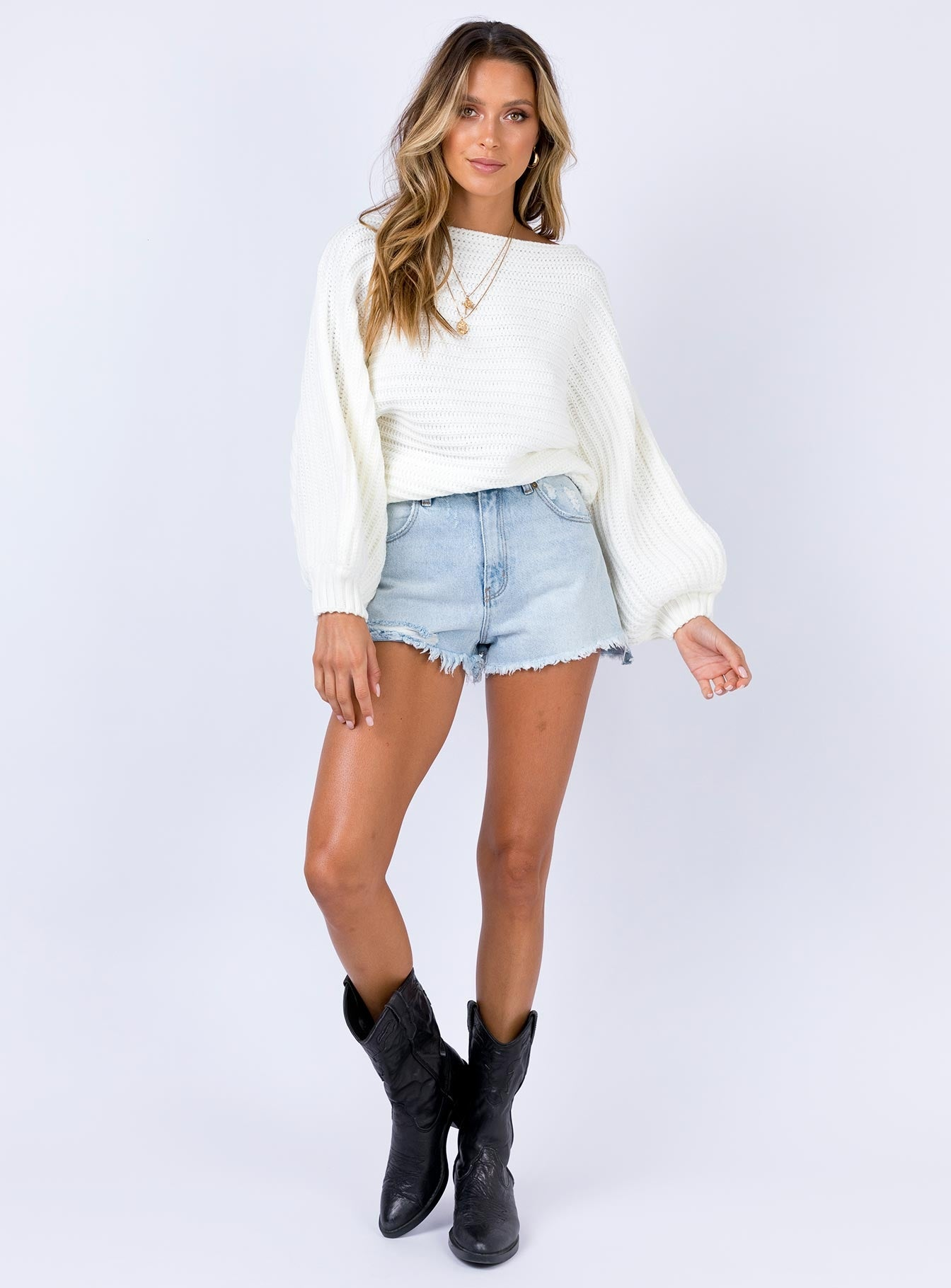 Abcola Jumper White