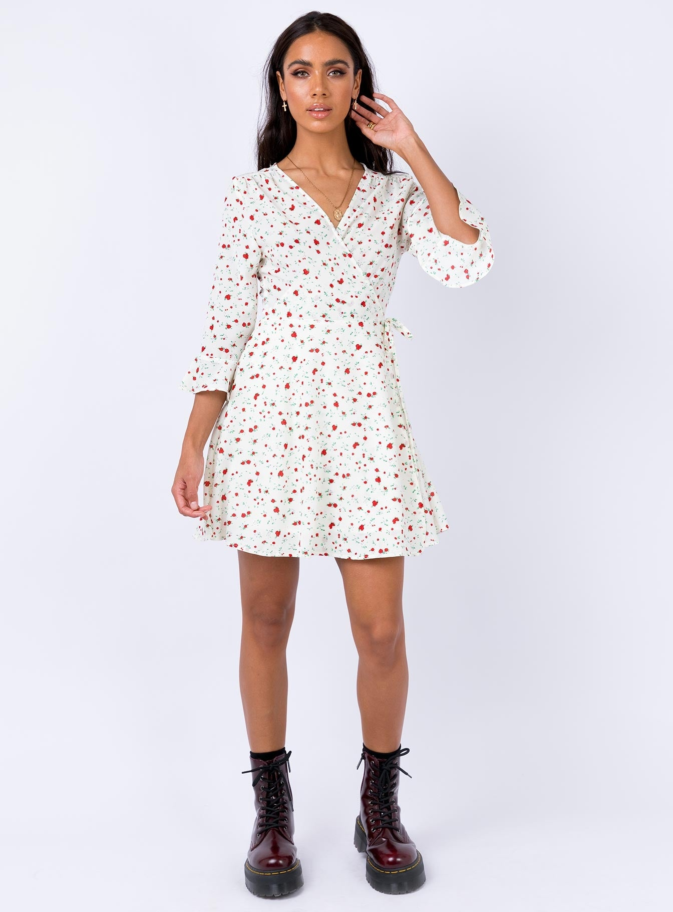 Hebron Mini Dress White