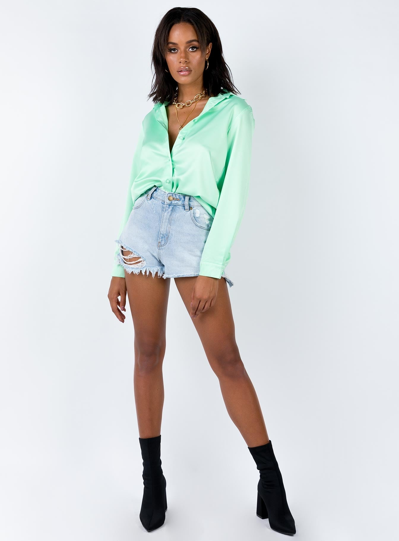 The Mesmerize Shirt Mint