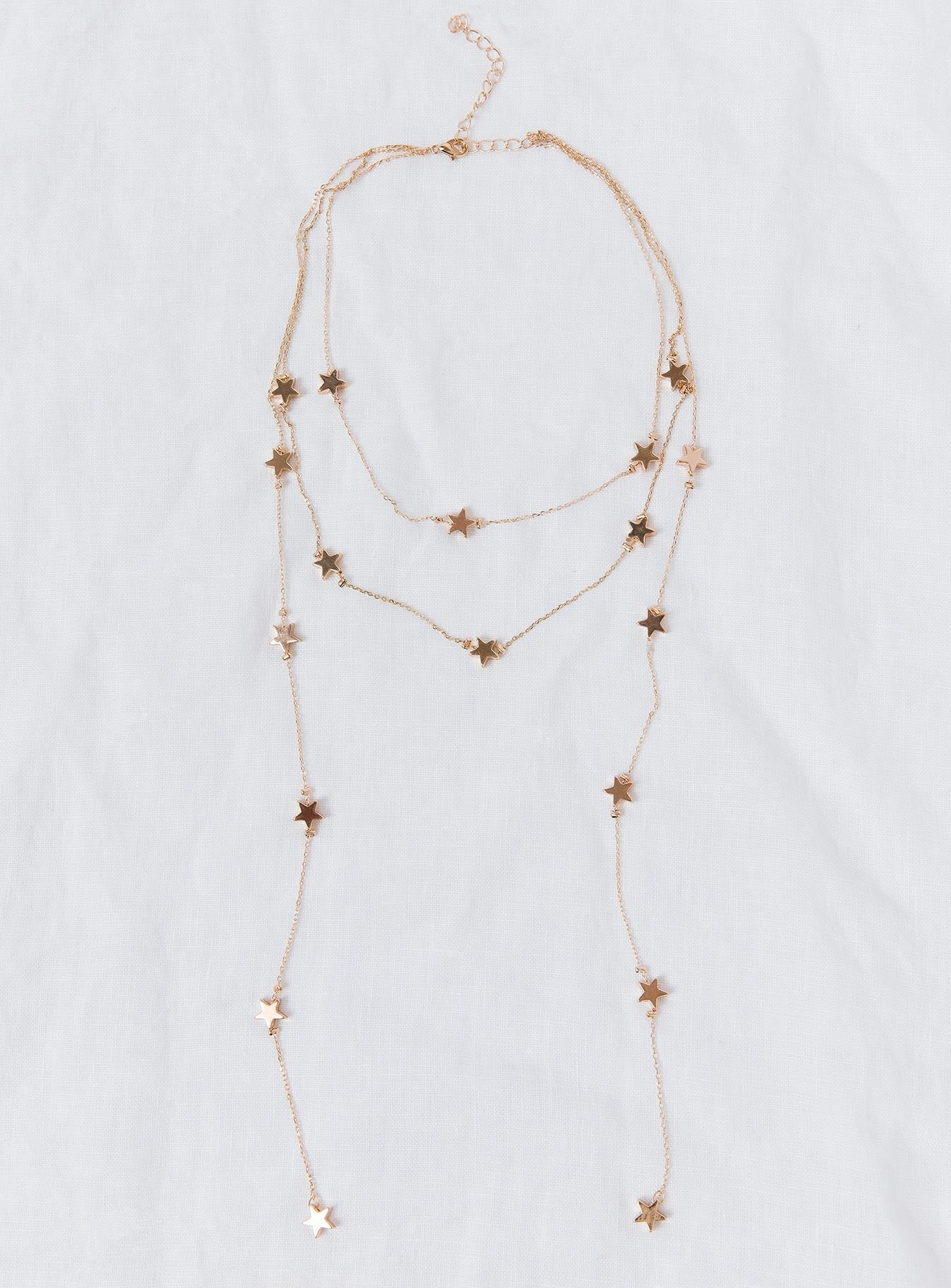 Nights Star Necklace Gold