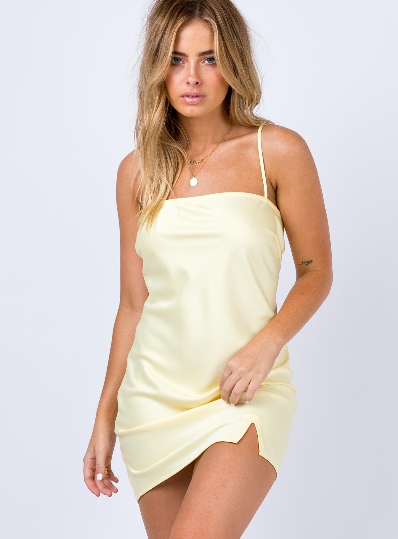 Marseille Mini Dress Yellow