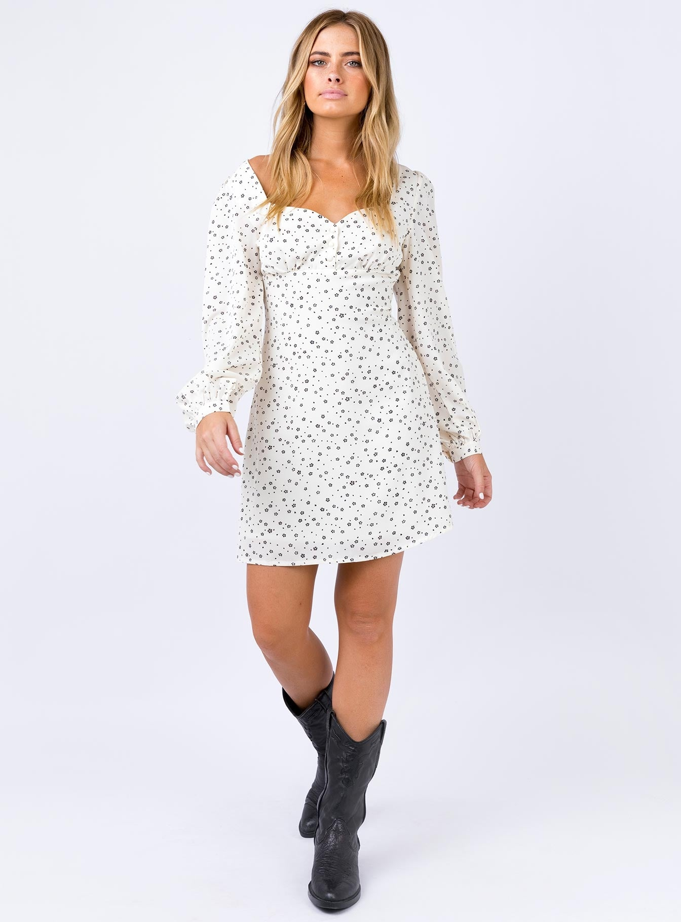 Weston Mini Dress Cream