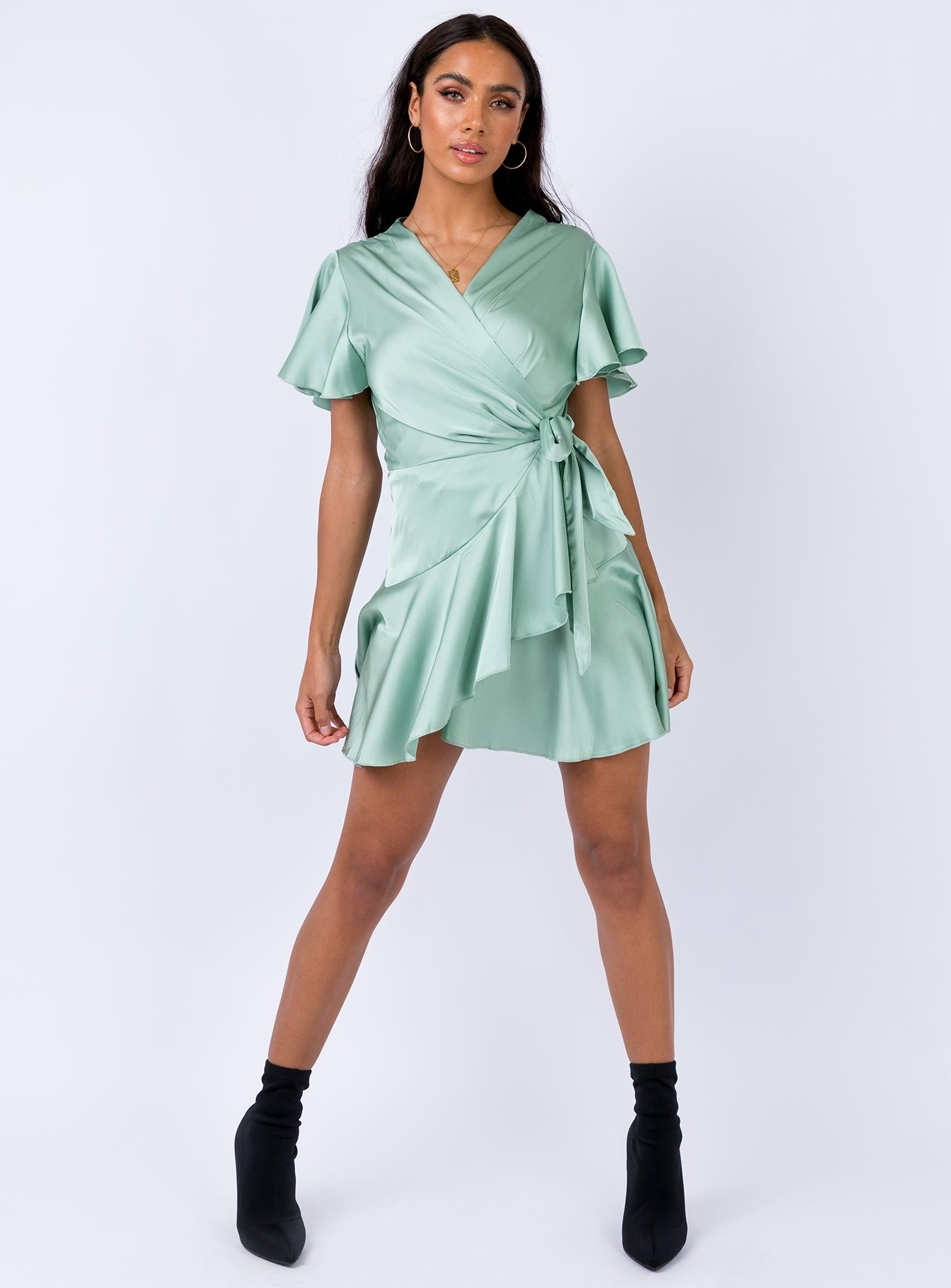 Erwina Mini Dress Mint