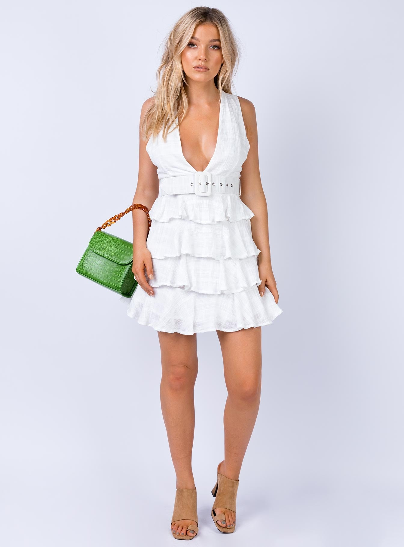 Dumas Mini Dress White