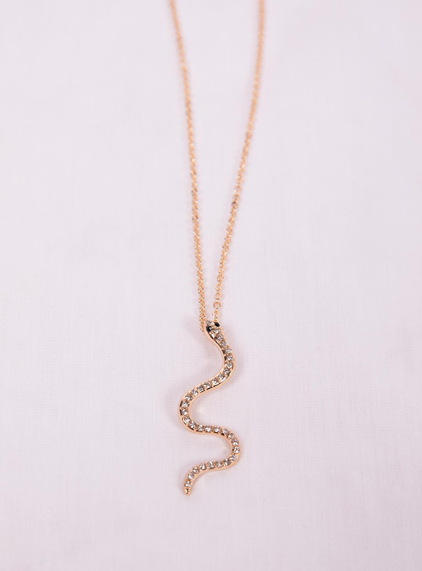 Dainty Snake Necklace