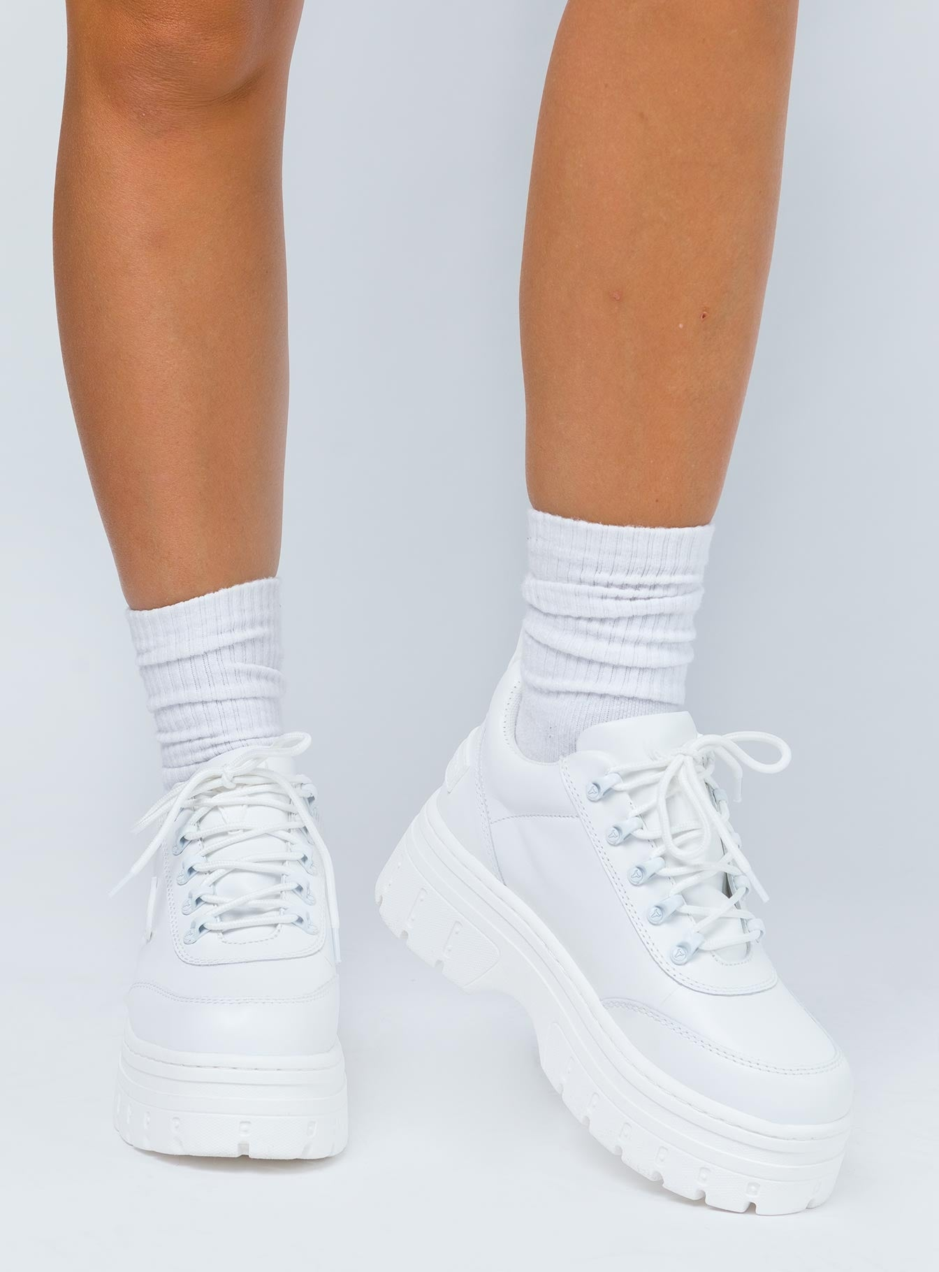 Windsor Smith Lux Sneakers White