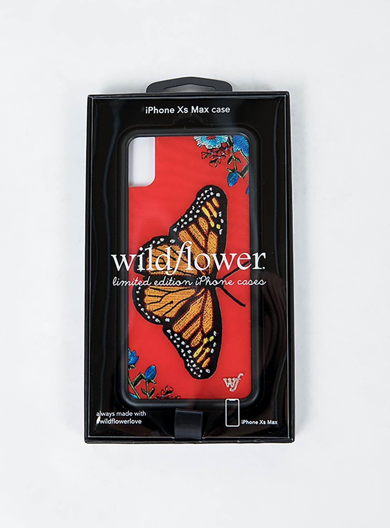Wildflower Butterfly iPhone XS Max Case