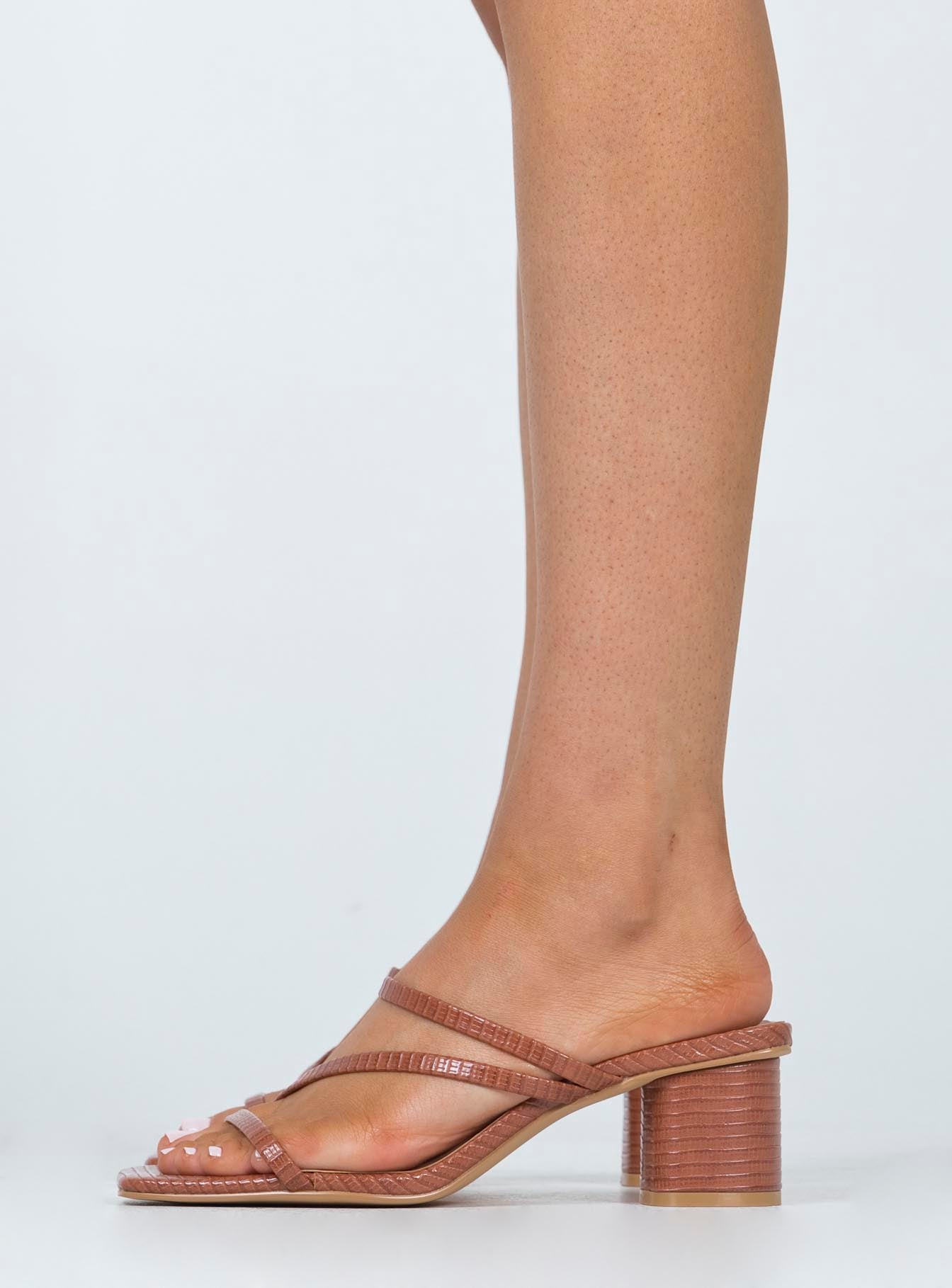 Homecoming Heels Tan