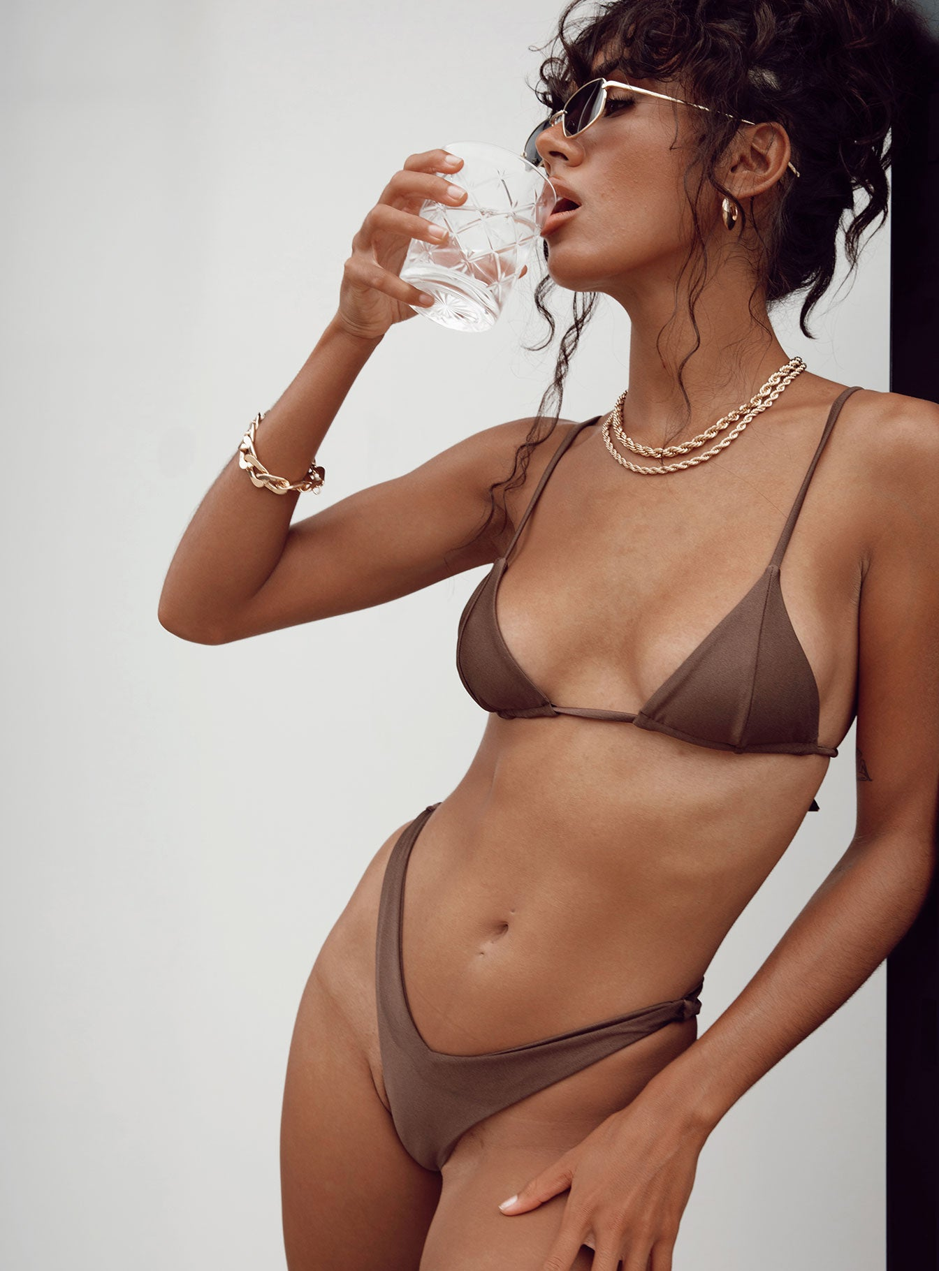 The Delilah Bikini Brown