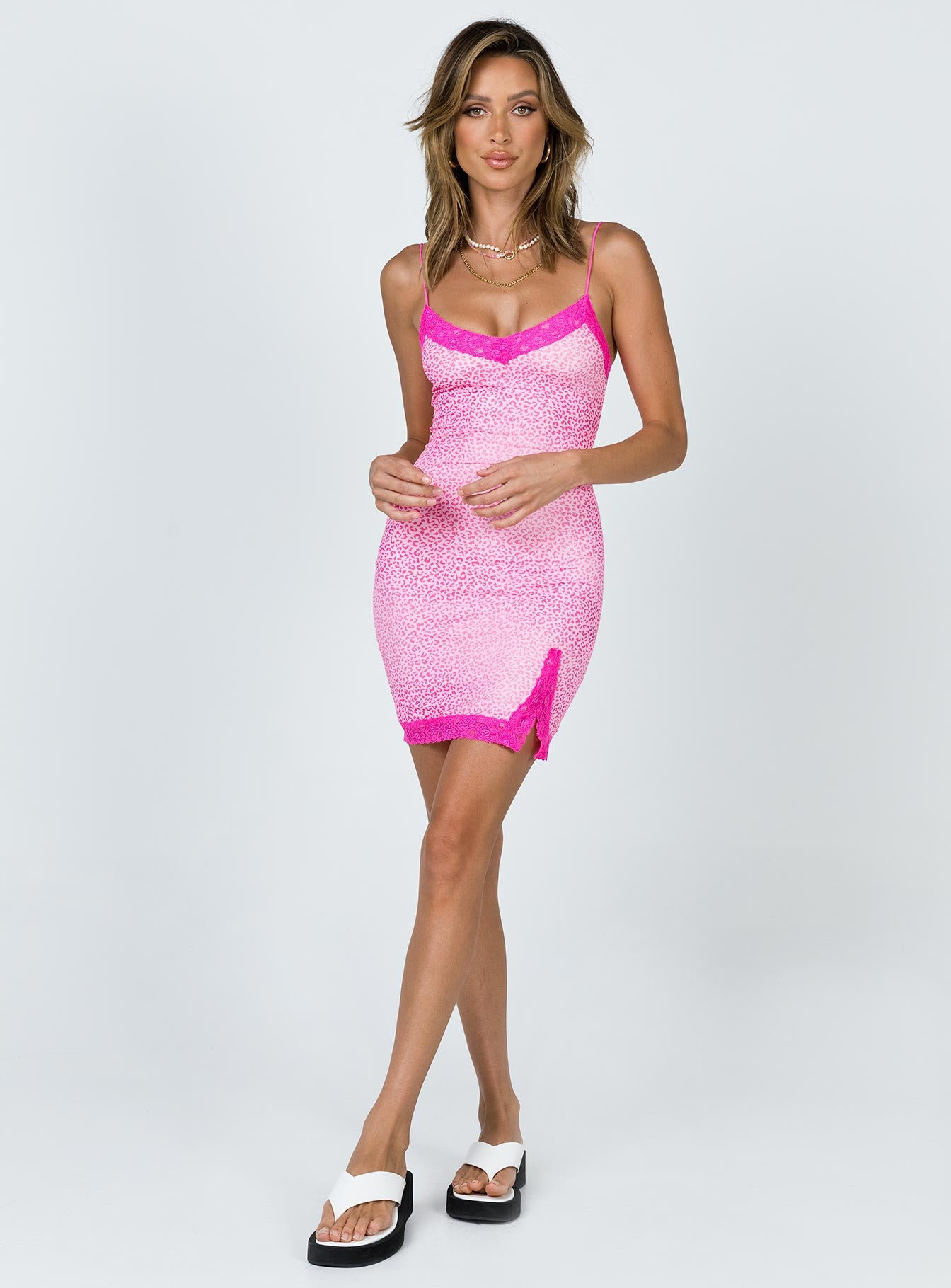 Modern Day Romance Mini Dress Pink