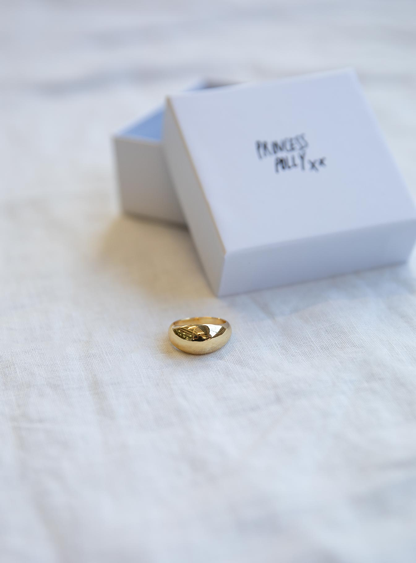 Over You Gold Plated Ring