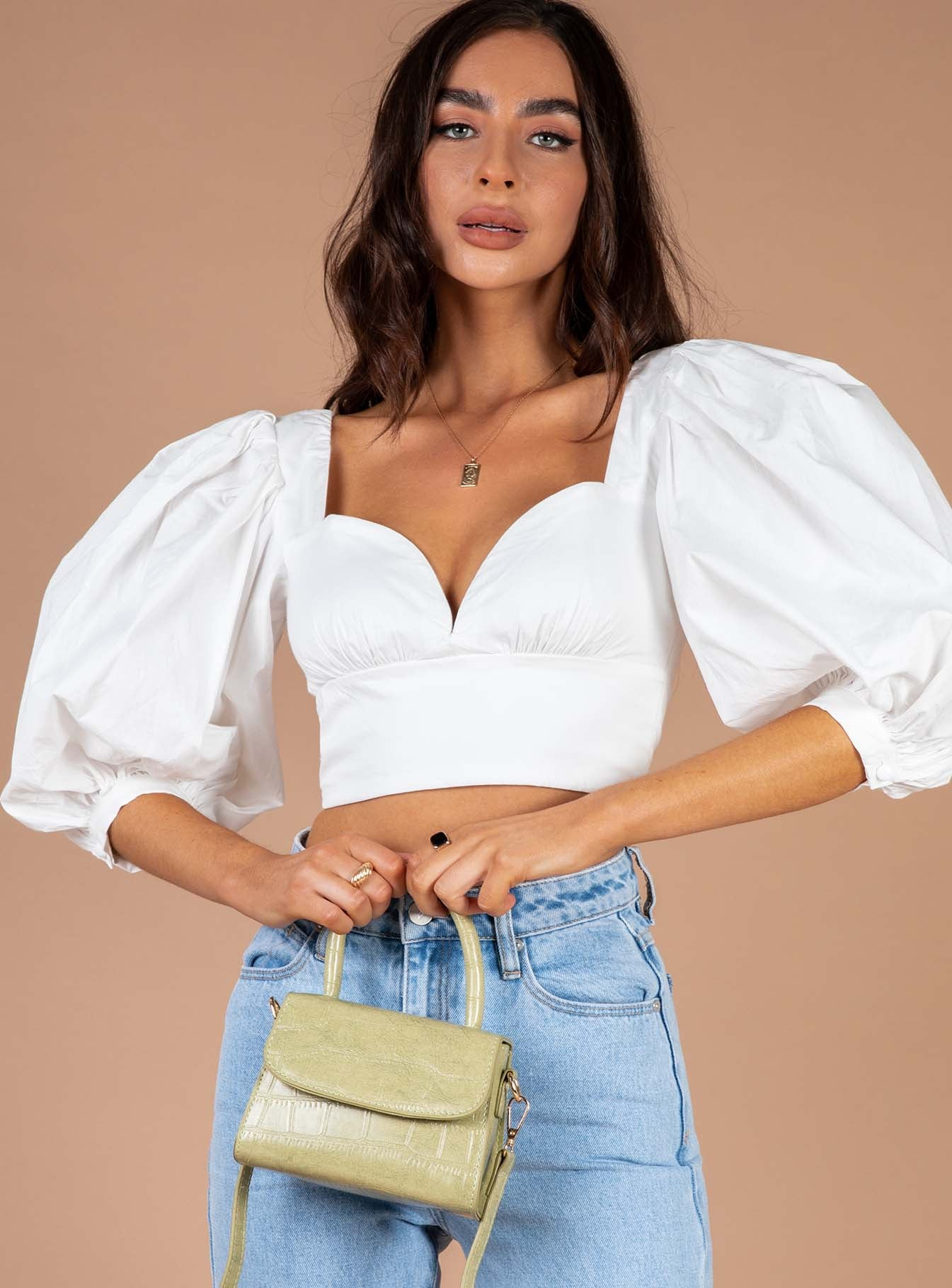 Bailee Top White