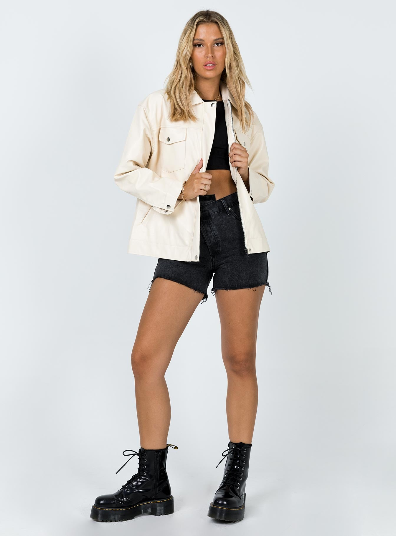 Callie Jacket Cream