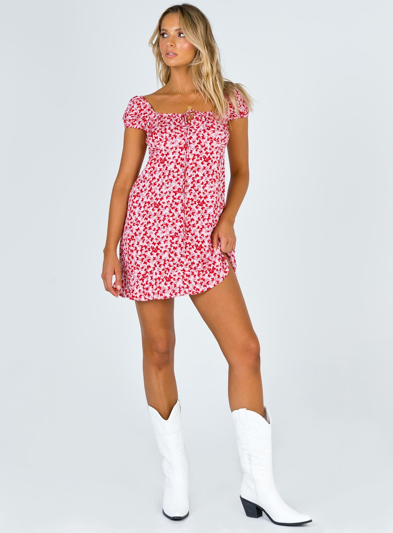 Motel Galaca Mini Dress