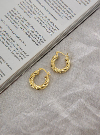 Treat Me Right Hoop Earrings