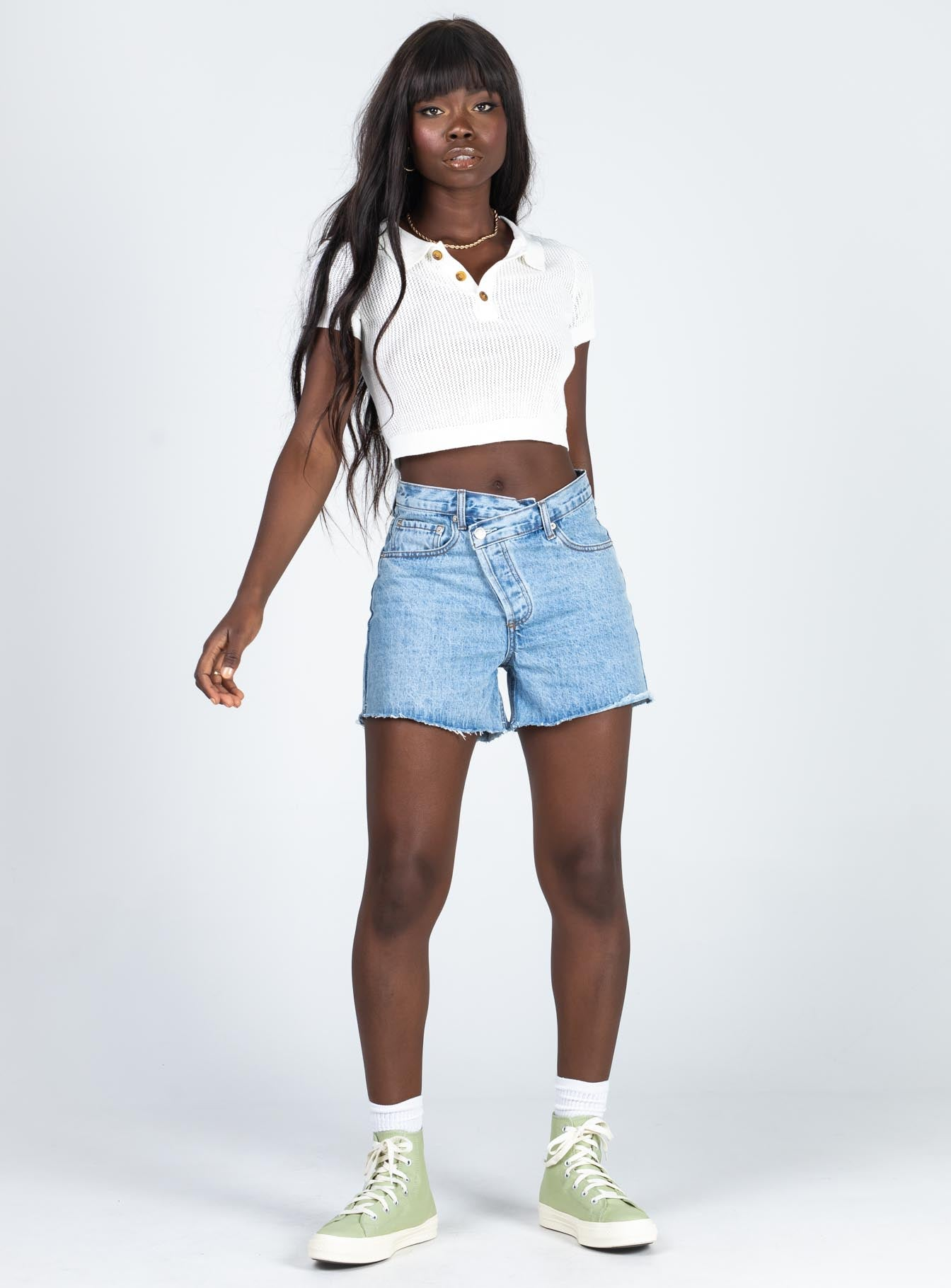 Xena Denim Shorts