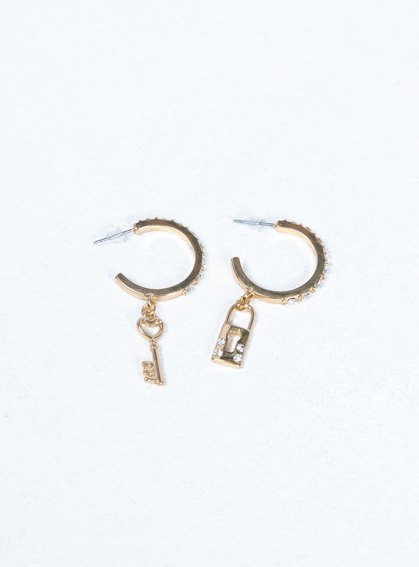 Lock & Key Earrings