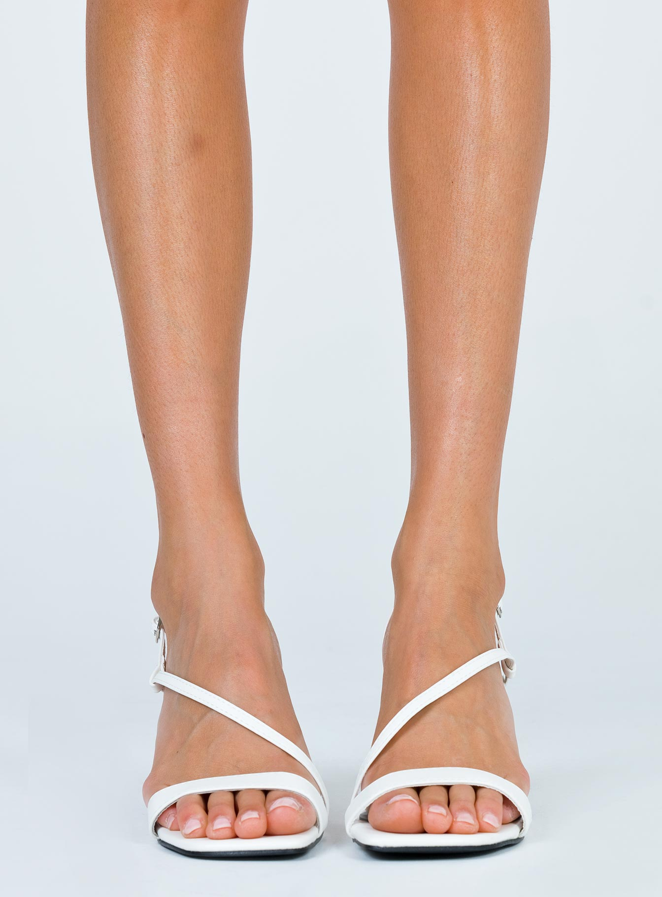 Therapy White Pixie Heel