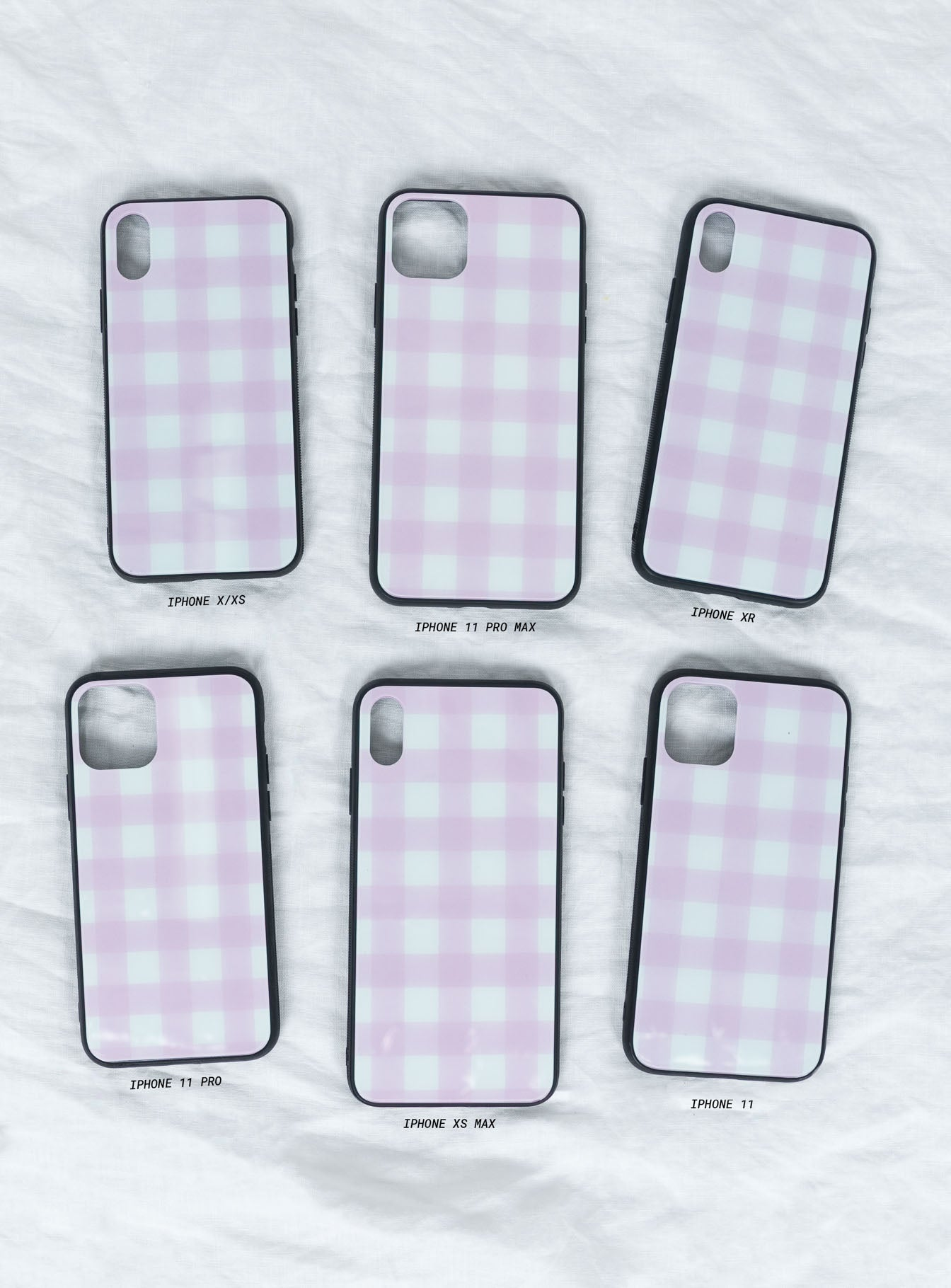 Gingham Gal iPhone Case