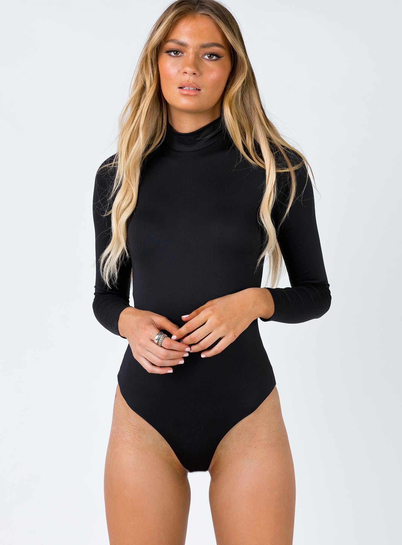 Archer Bodysuit Black