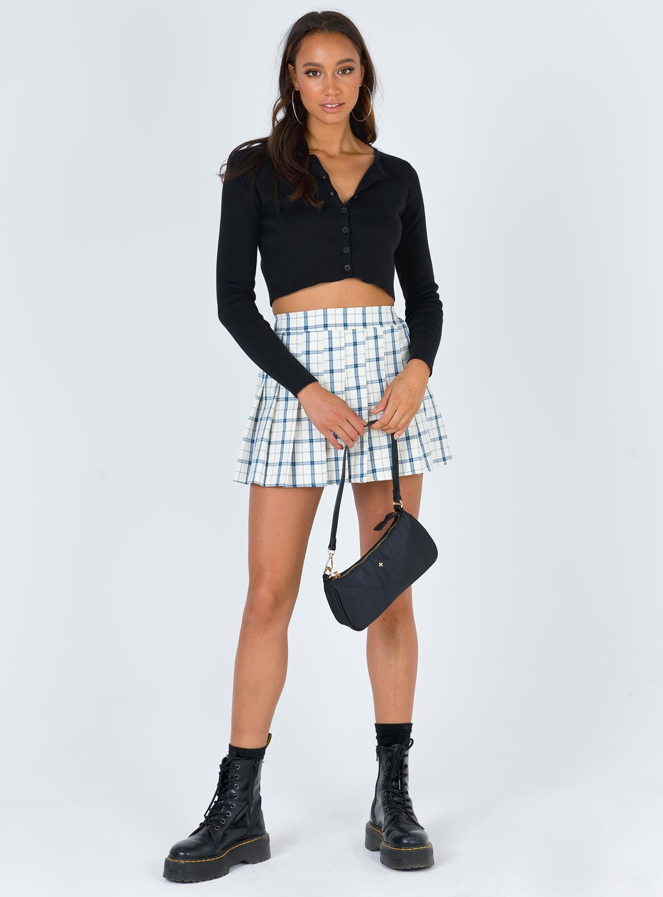 Lona Mini Skirt