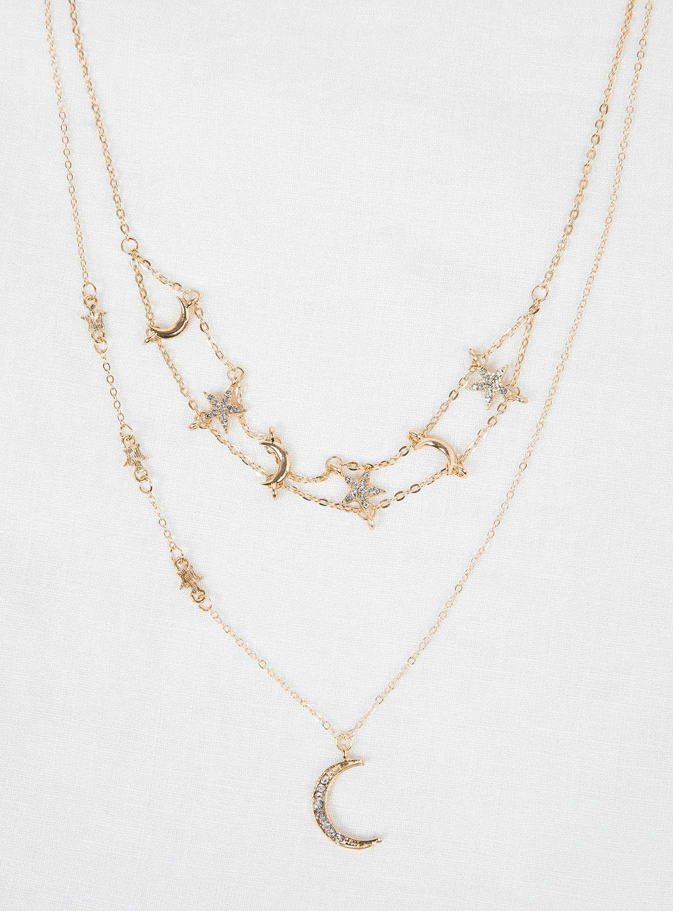 Jupiter Necklace Gold