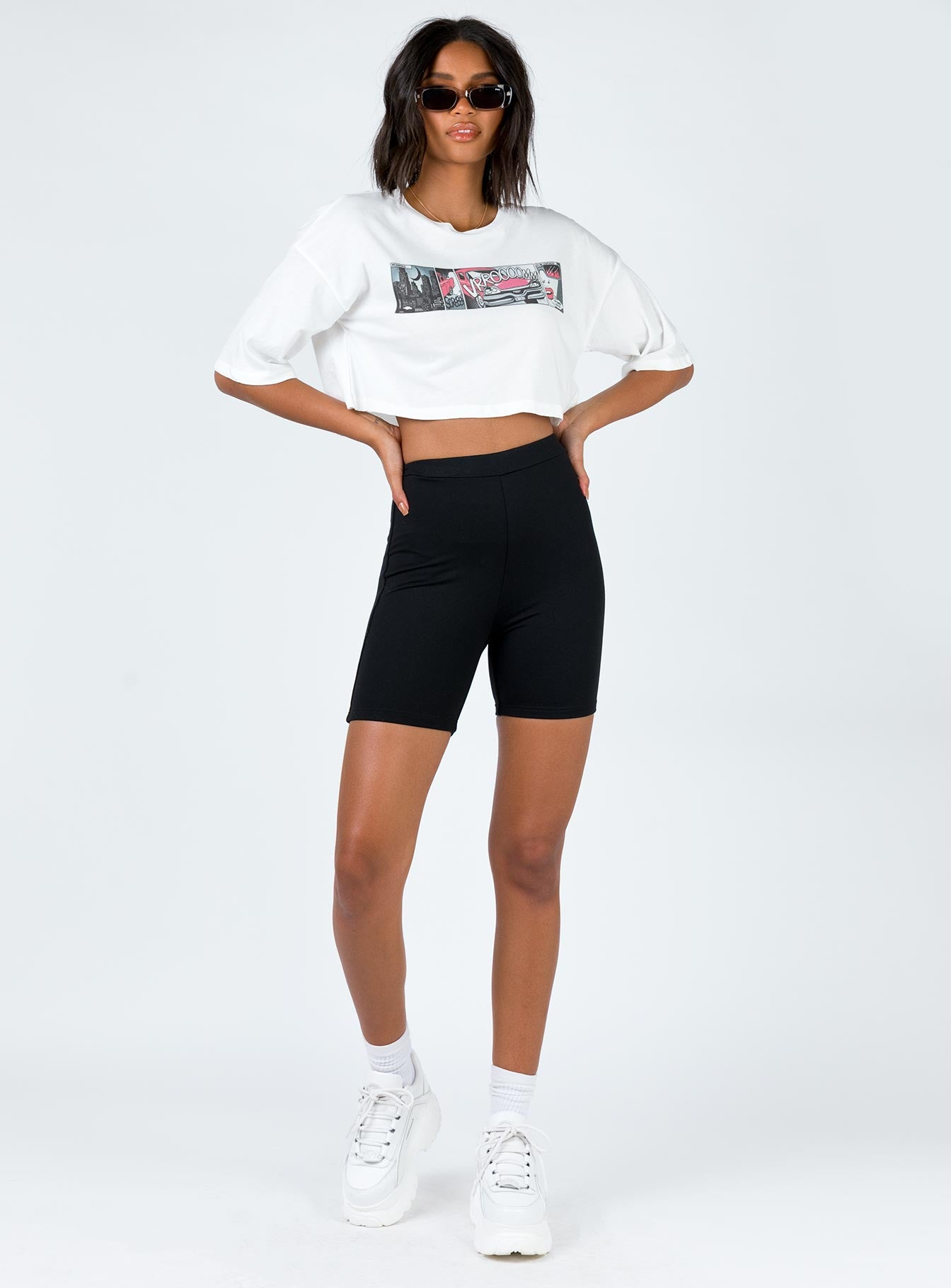 TWIIN Animated Crop Tee
