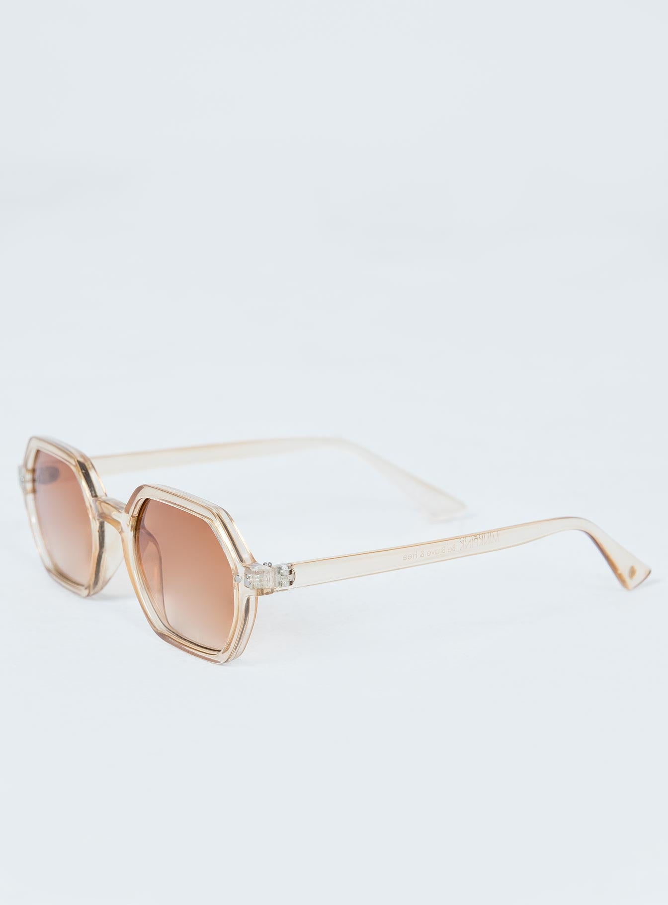 Minkpink Zimmy Sunglasses Tan