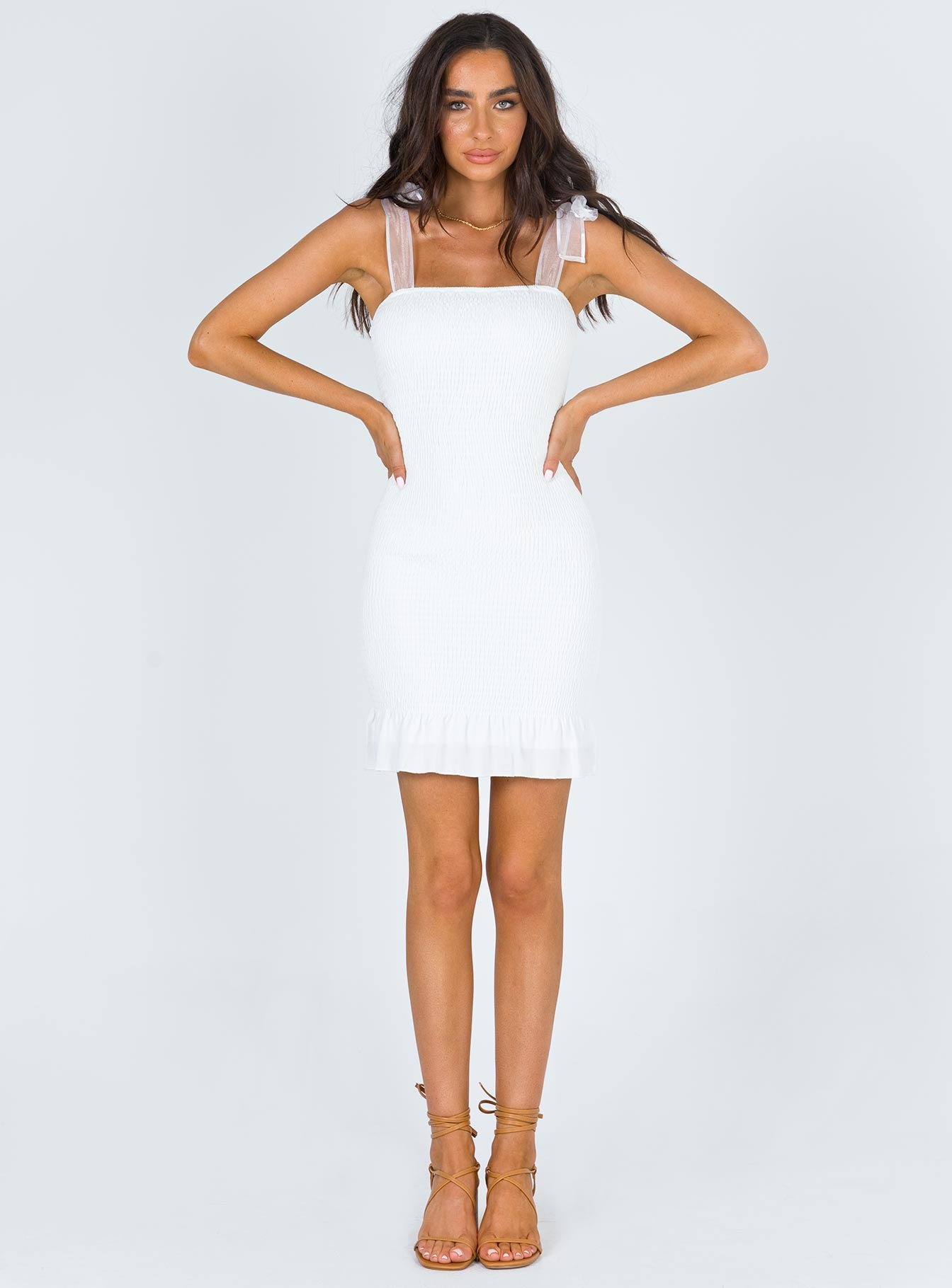 Lerena Mini Dress White