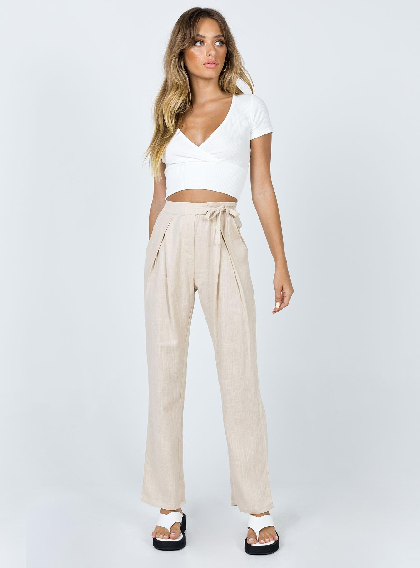 Carrie Pants Beige