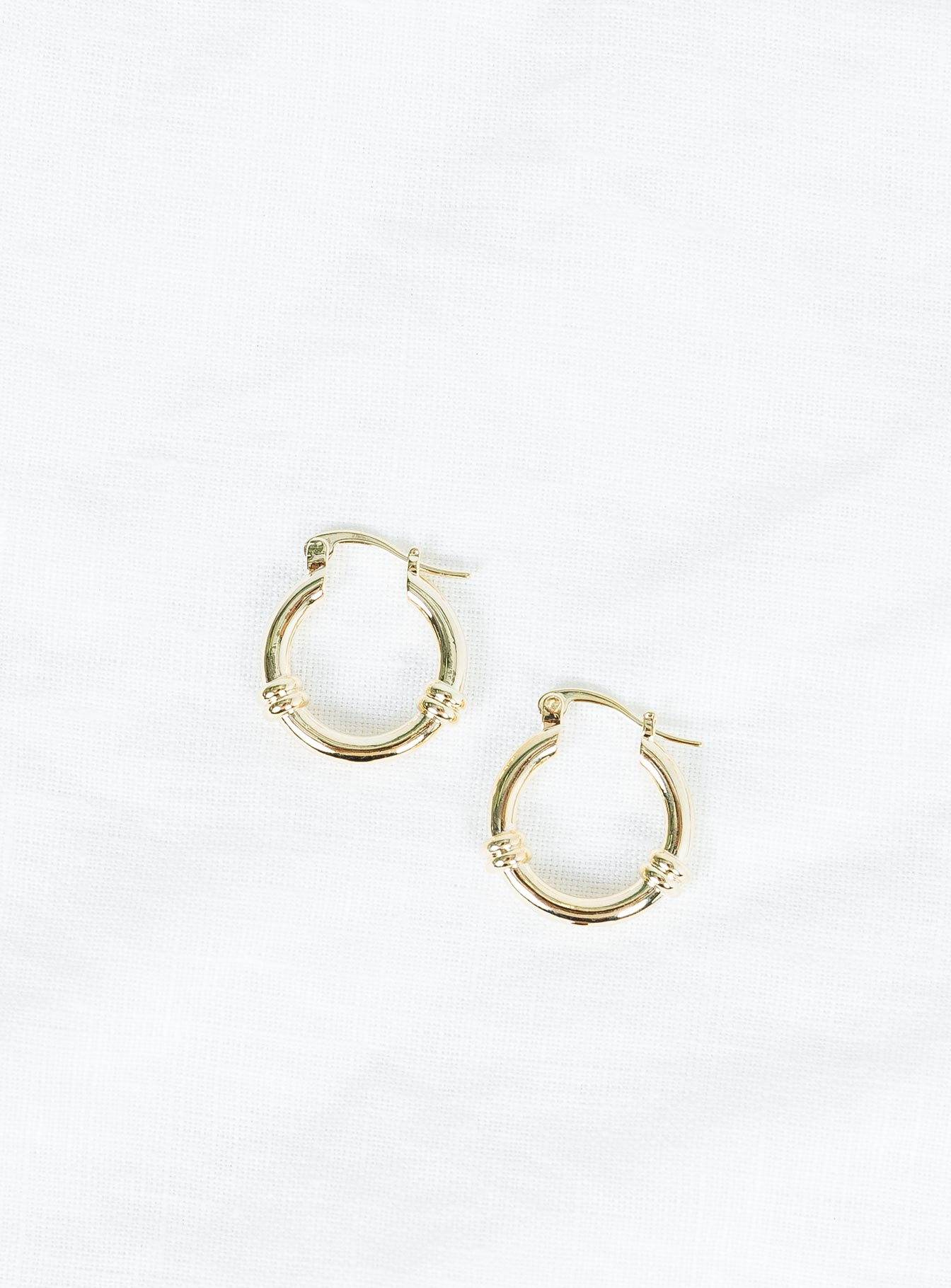 The Hali Hoop Earrings