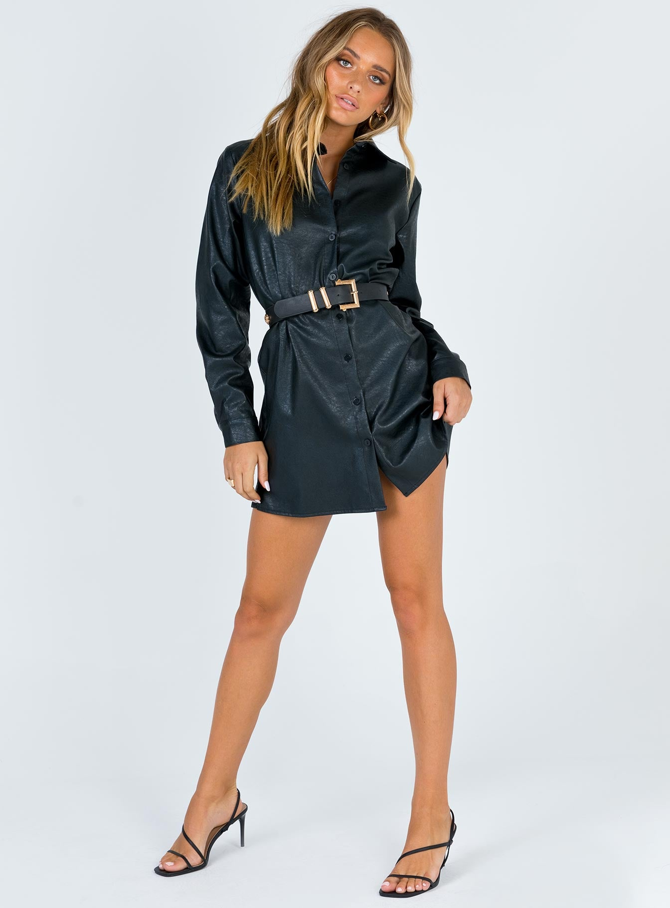 Marlow Shirt Mini Dress