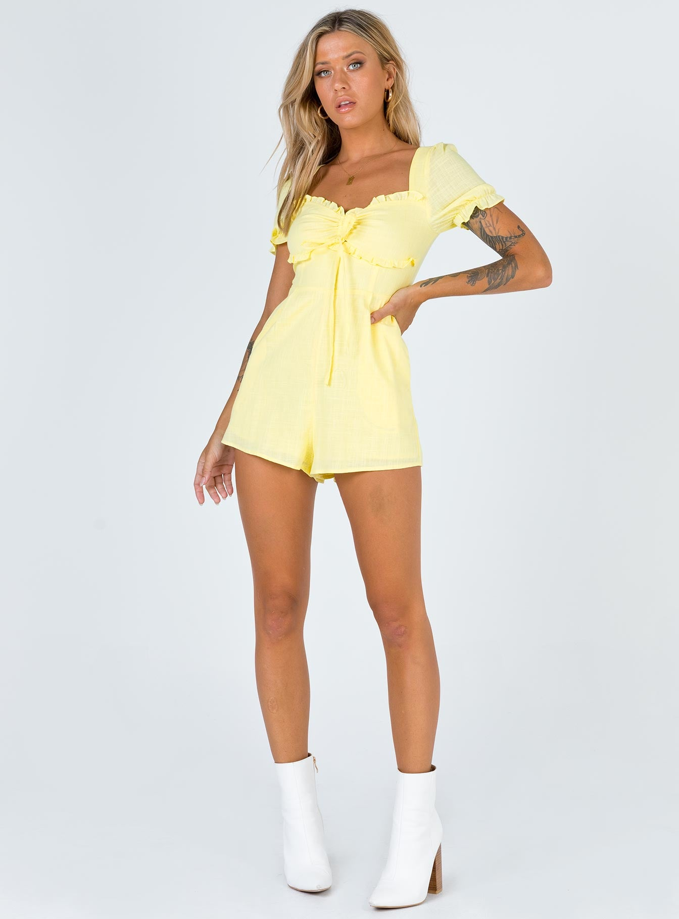 Henley Playsuit