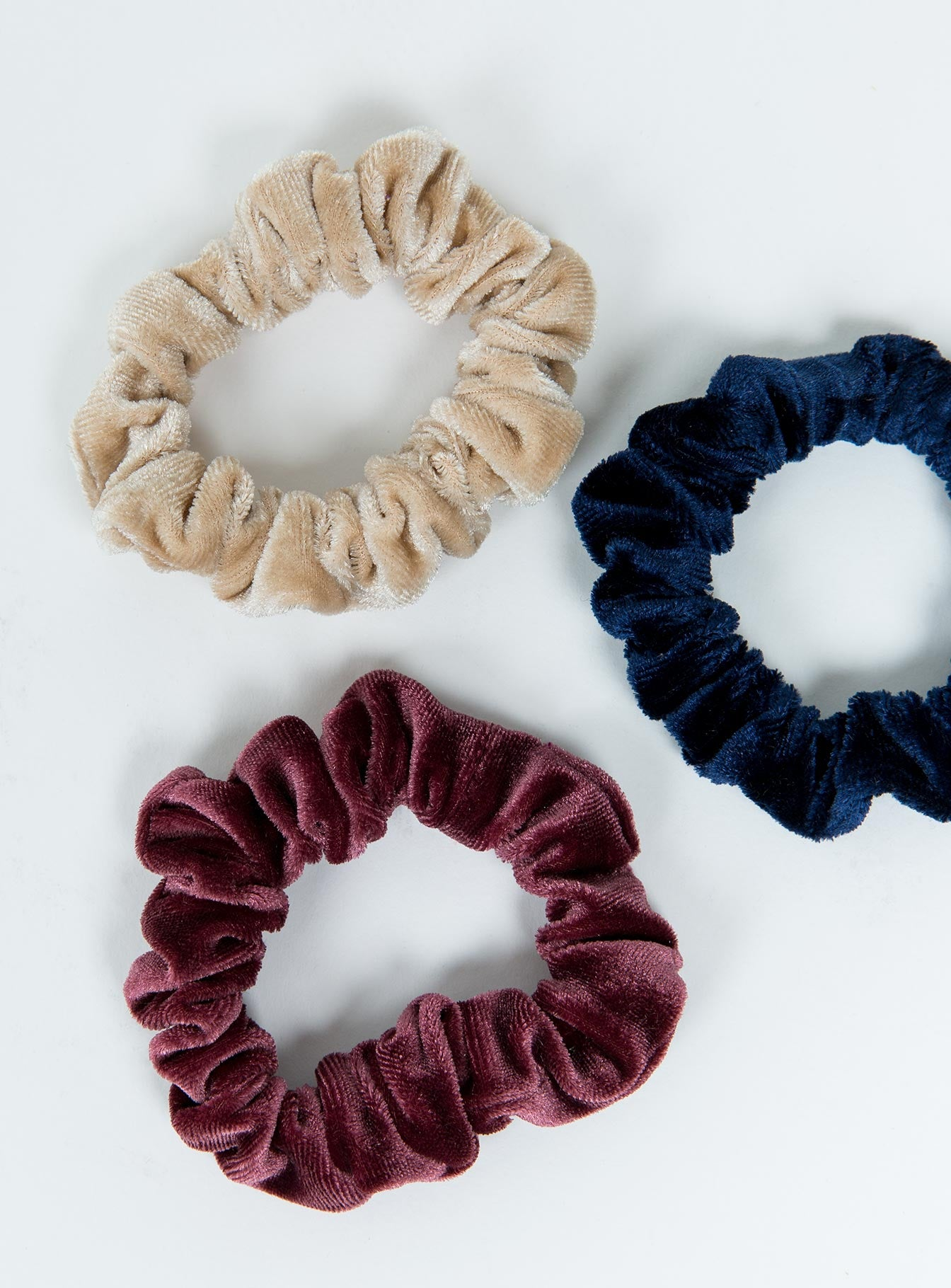 Velvet Scrunchie Set