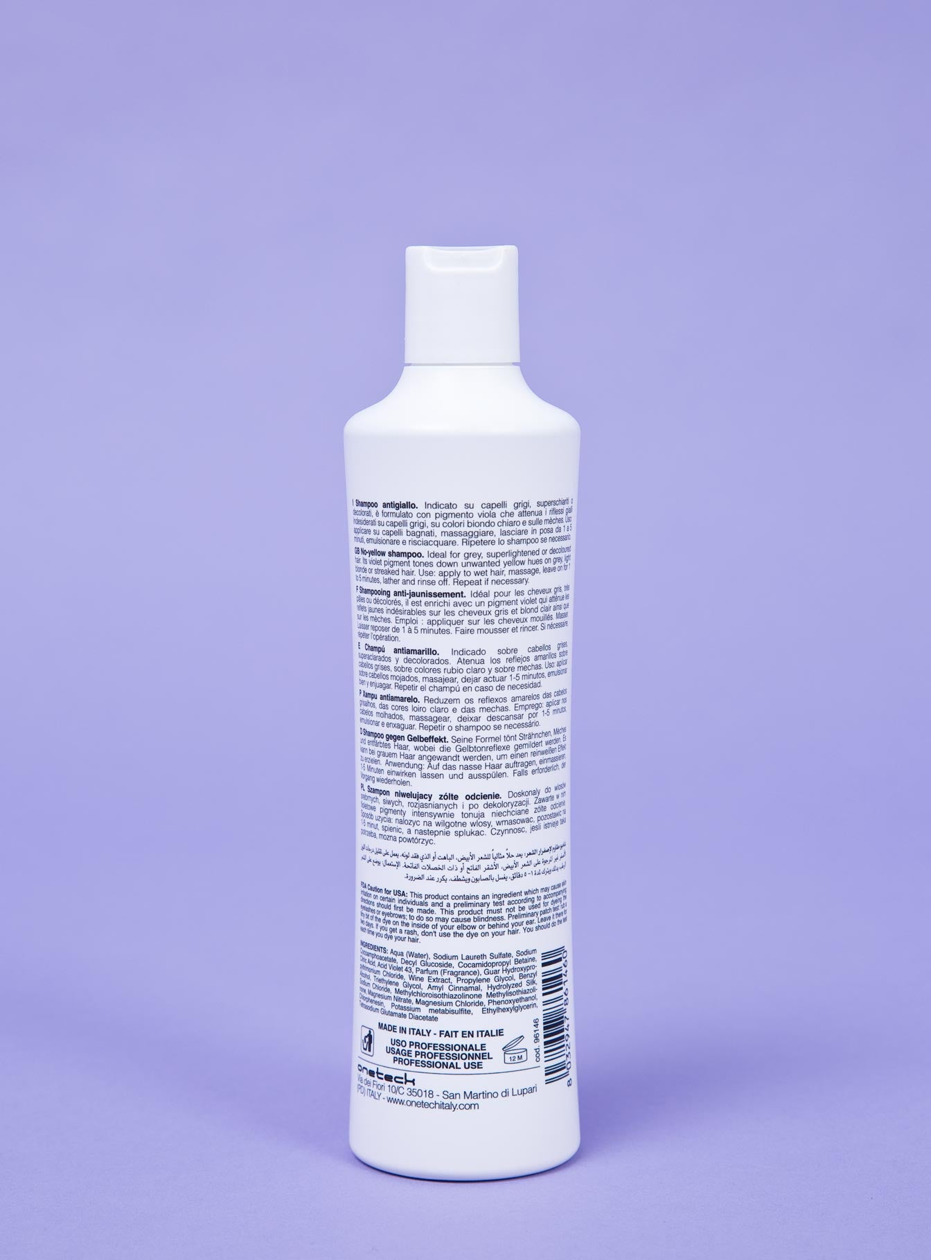 Fanola No Yellow Shampoo 350ml Purple
