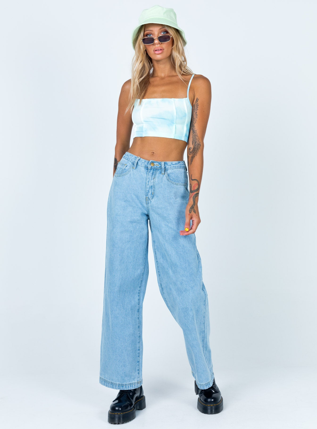 Parker Oversized Jeans Denim