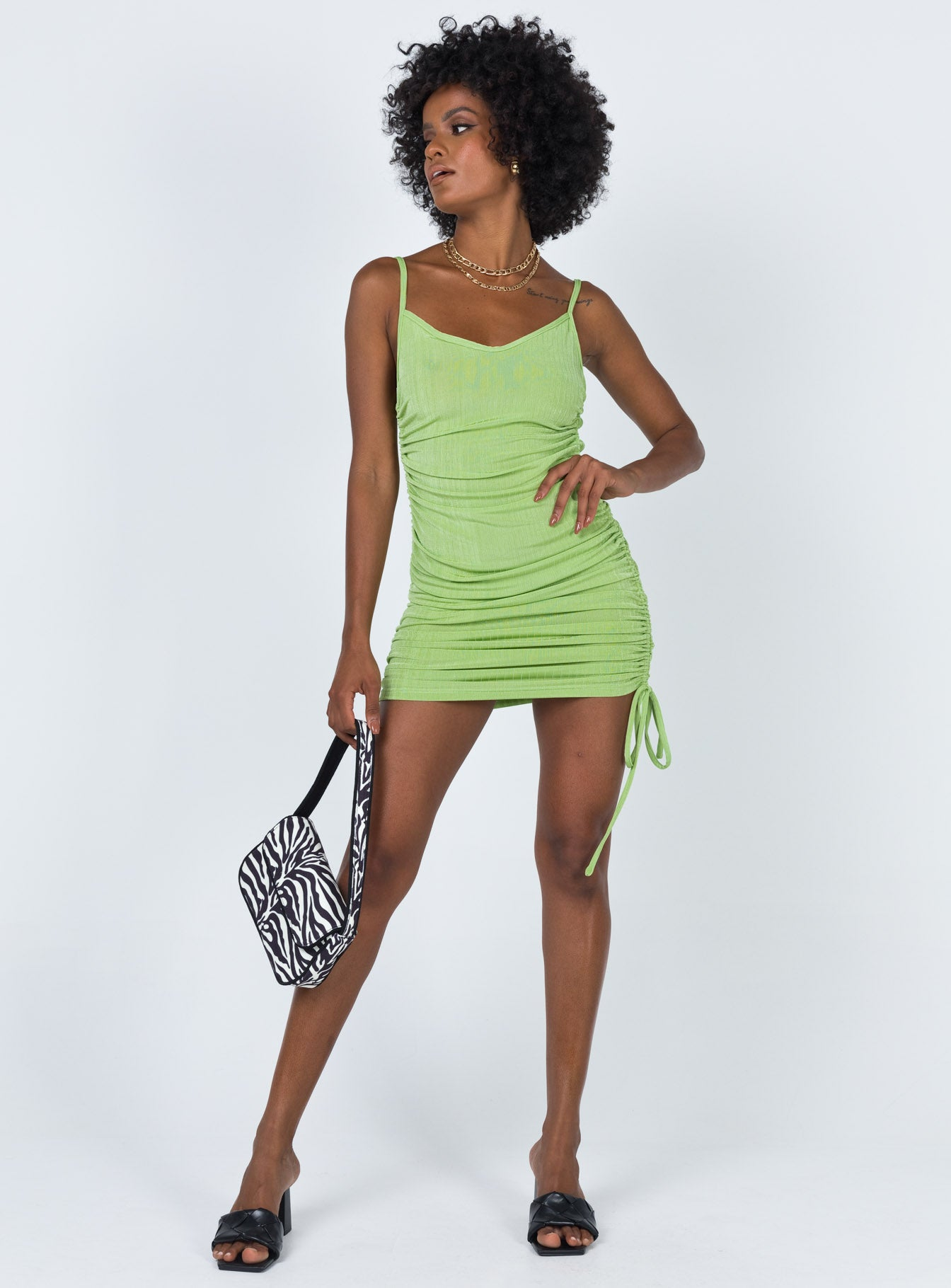 Giselle Mini Dress Green