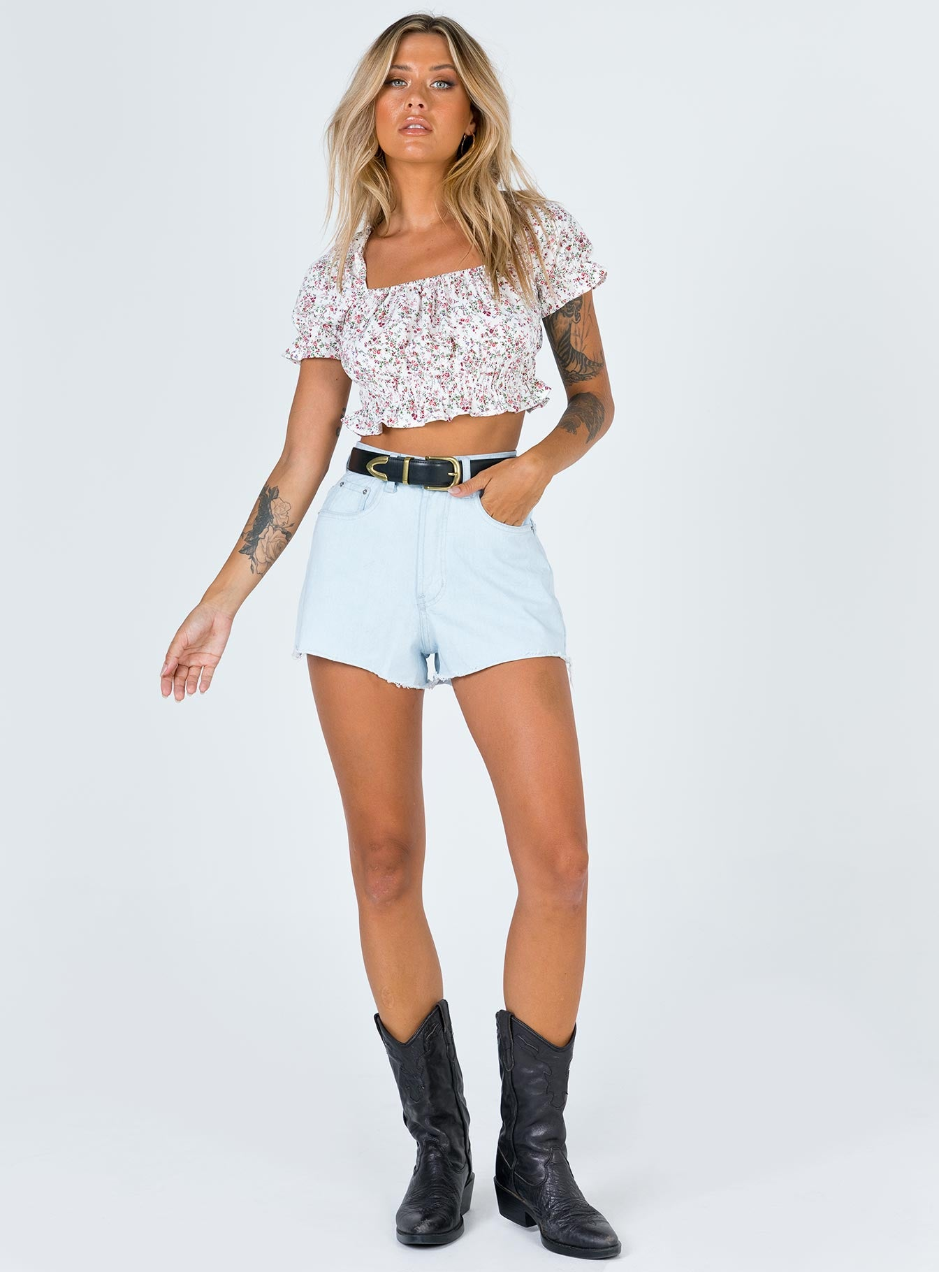 Rock Bottom Denim Short