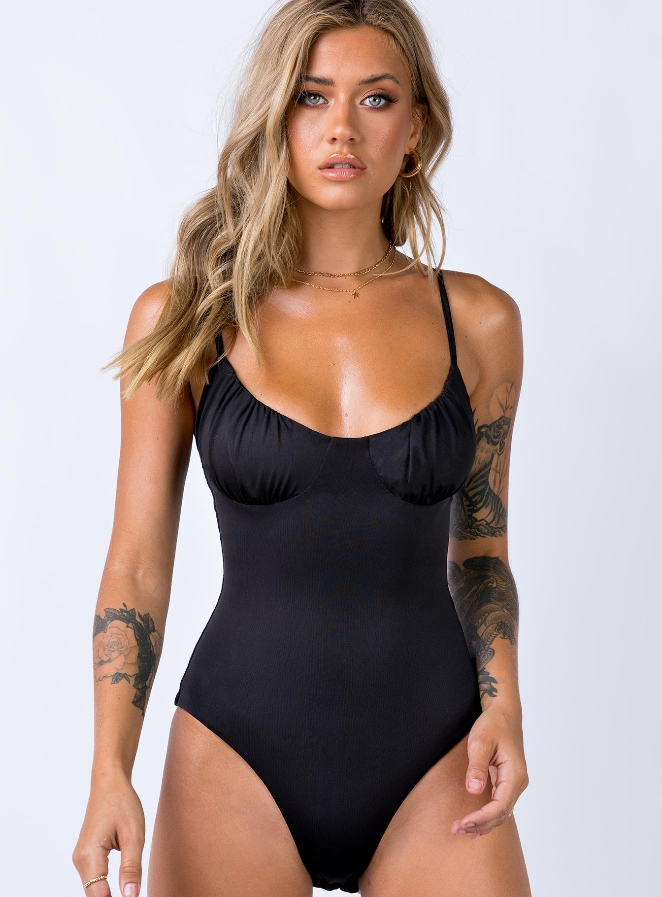 Levey Bodysuit Black