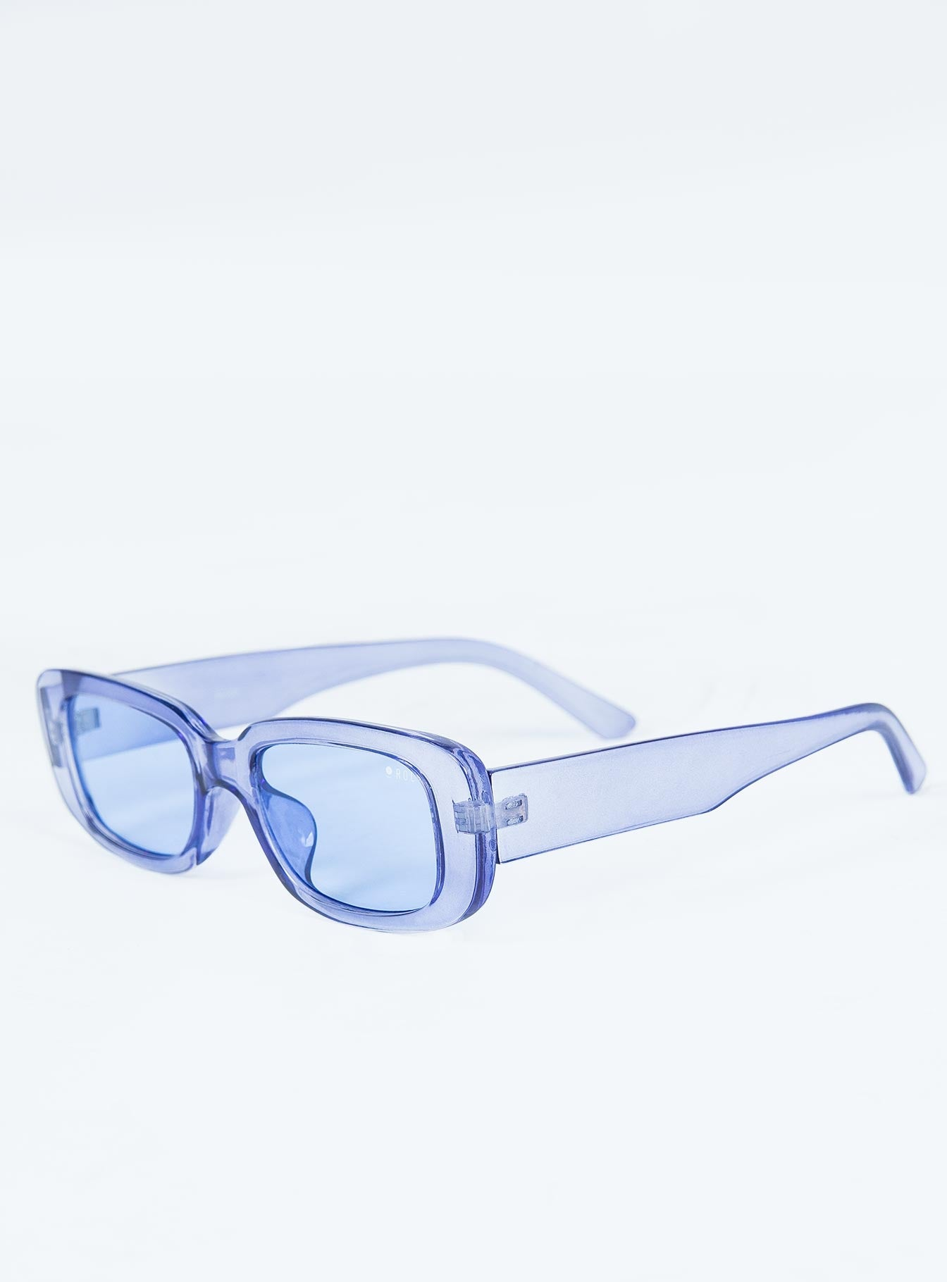Creeper Sunglasses Clear Blue