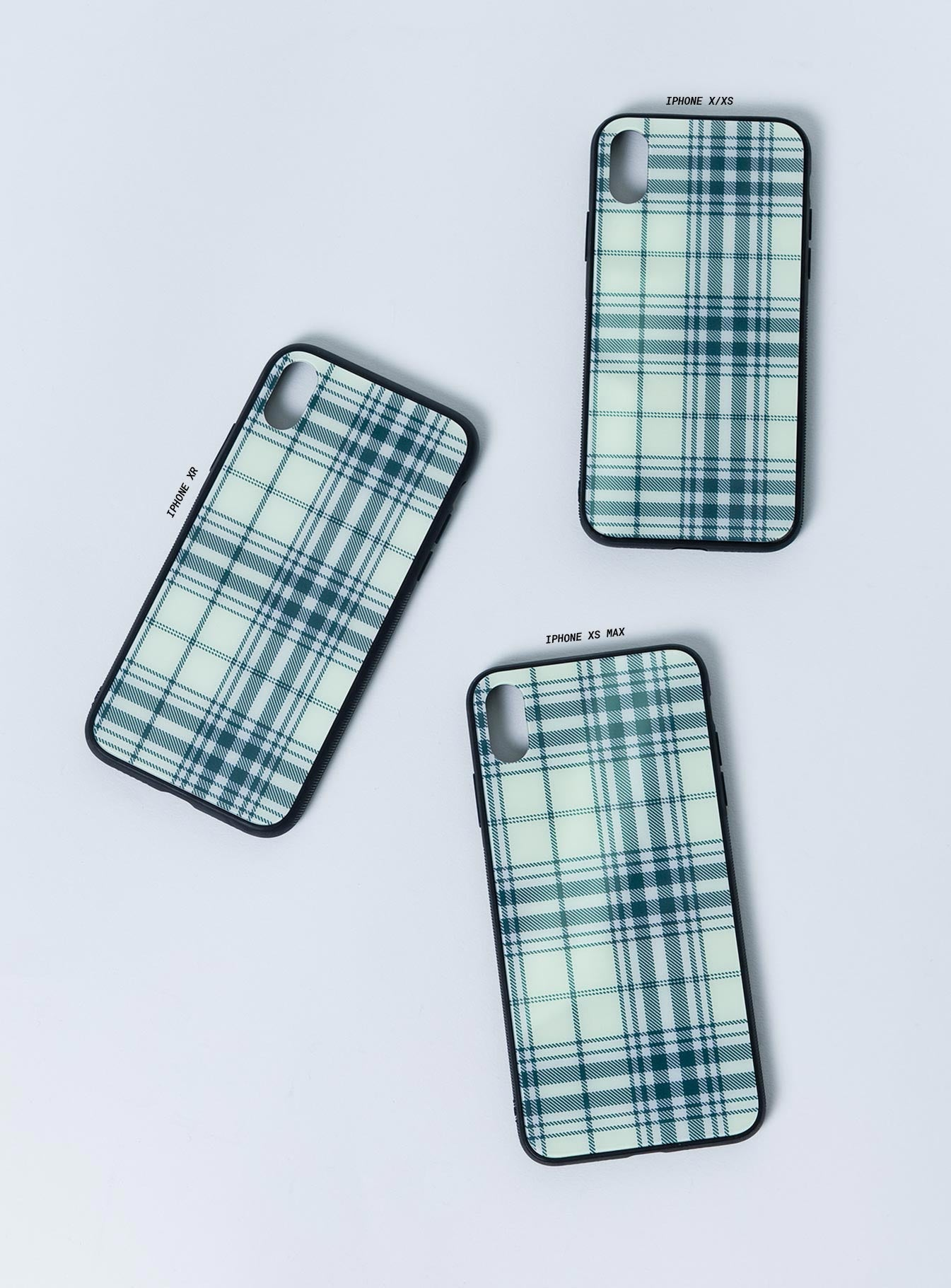 Plaid Times iPhone Case