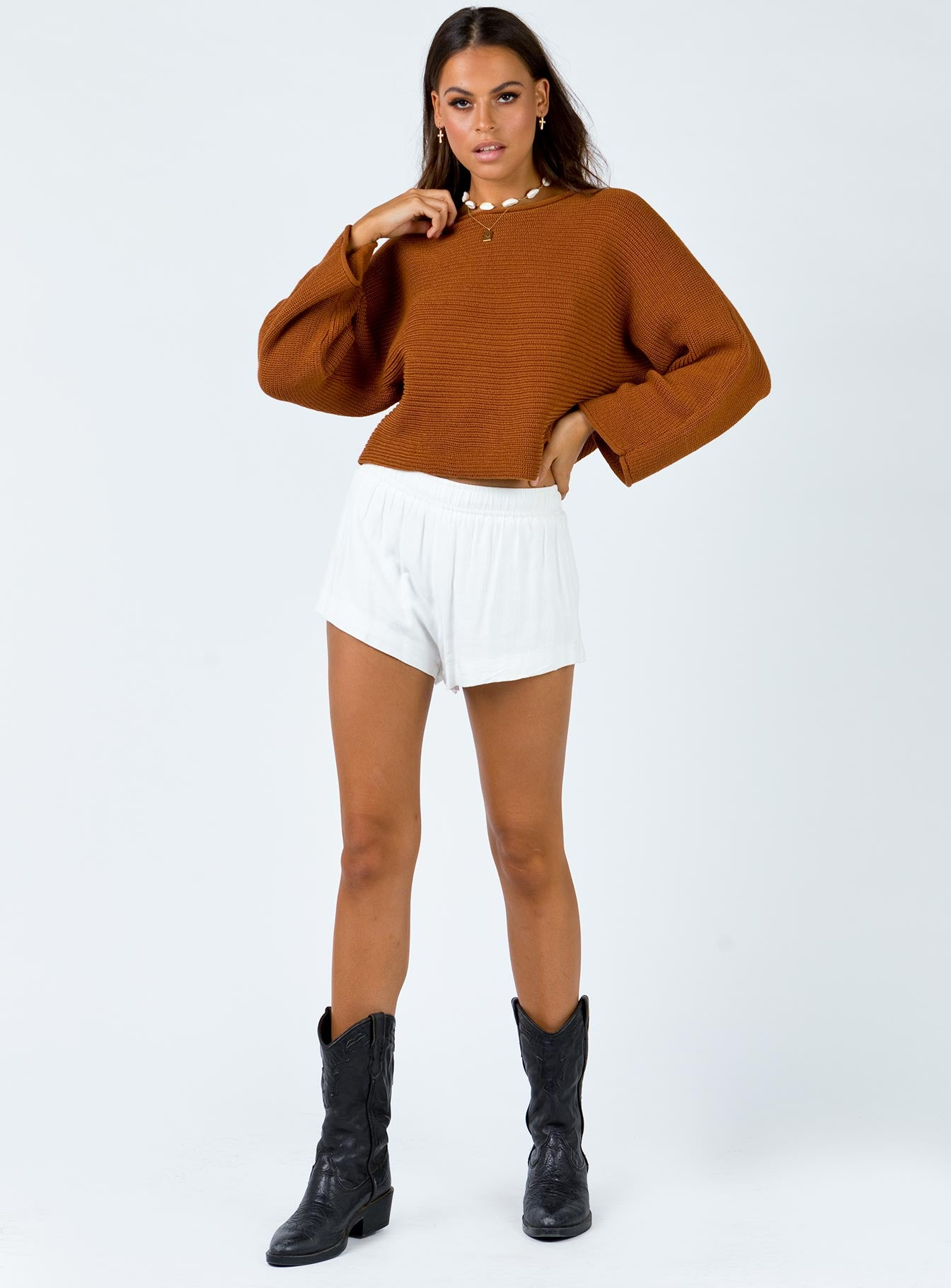 The Amble Jumper Brown