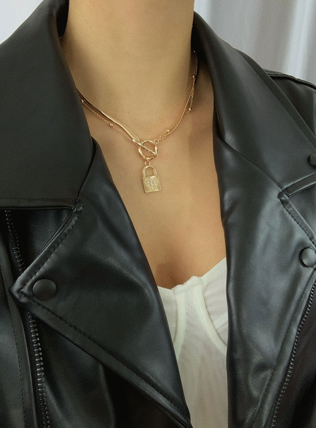 Heart Shine Necklace Set