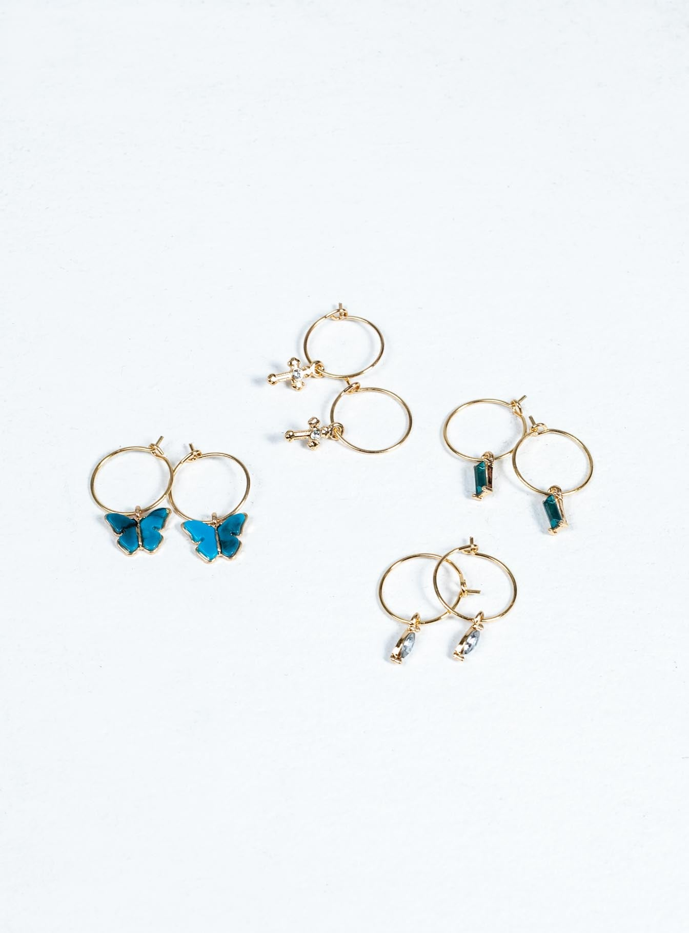 Mix But Don't Match Earring Set