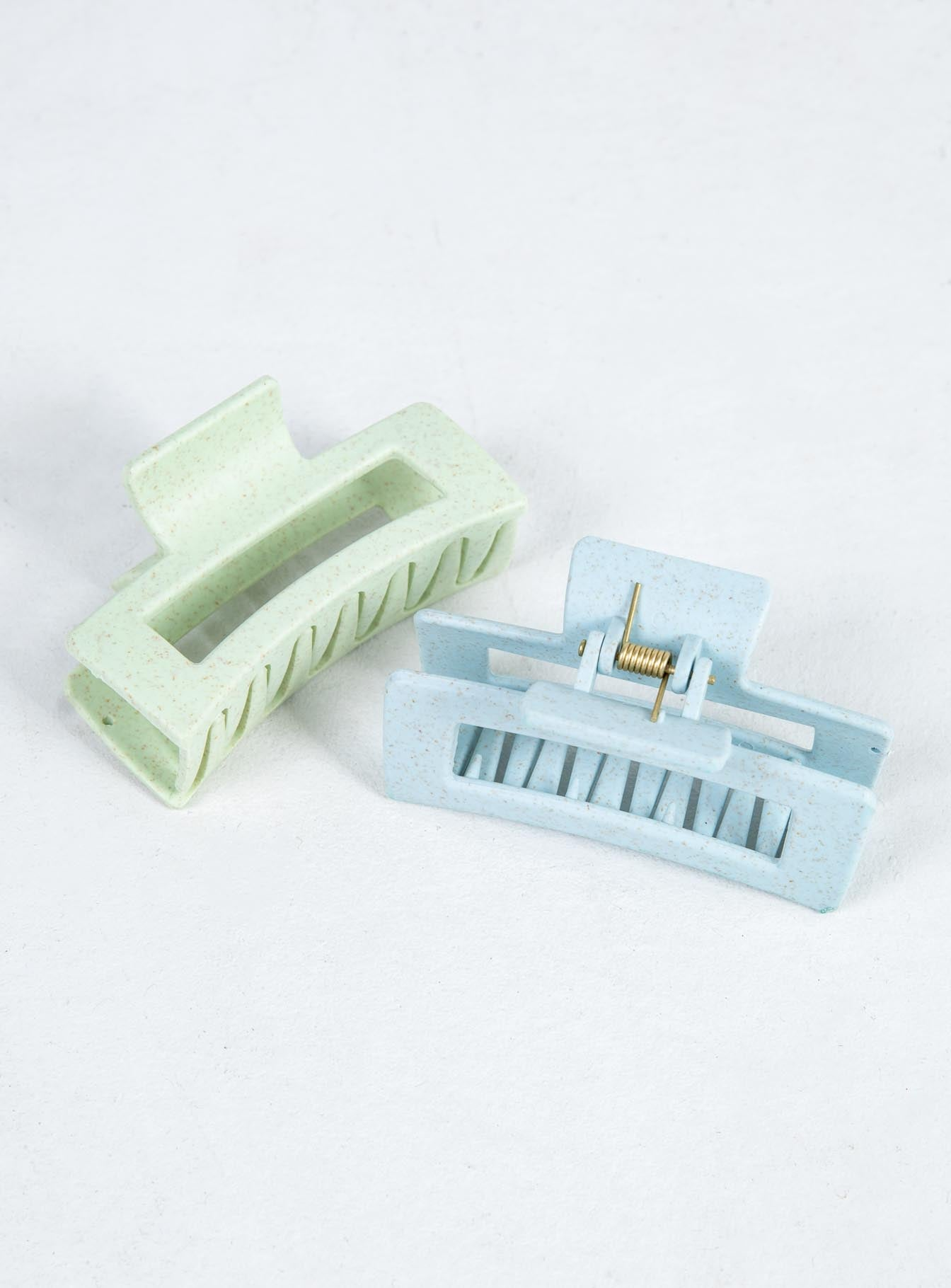 Matise Hair Clip Pack Green & Blue